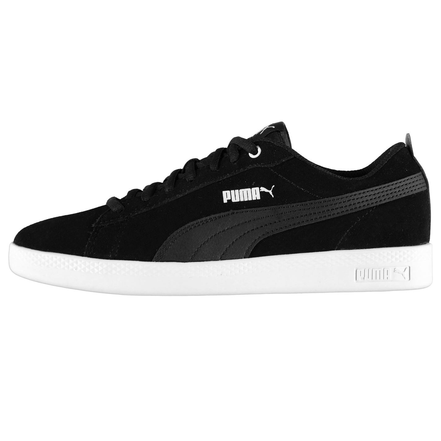 Puma Puma Puma Damenschuhe Smash Suede Trainers Lace Up Padded Ankle Collar Tongue TextuROT 3b2cc7