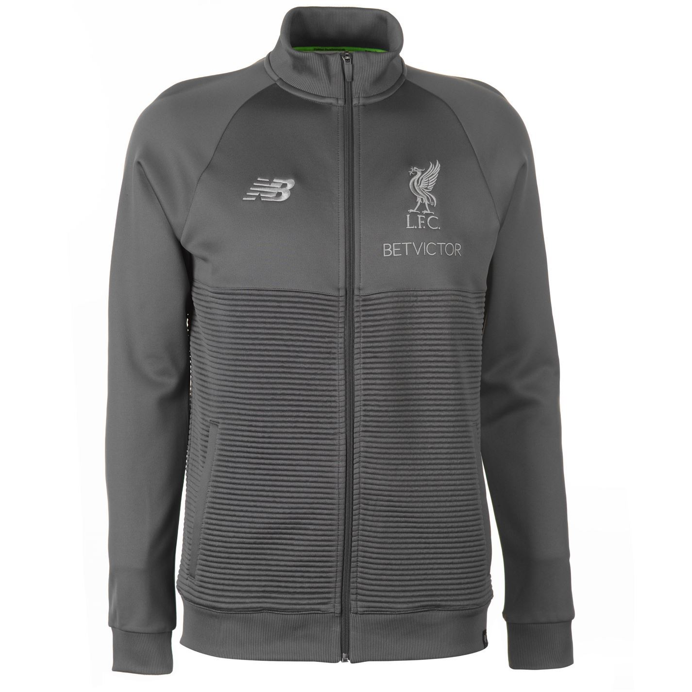 New Balance Mens Liverpool Walk Out Jacket 2018 2019 Tracksuit Top ... d6e3e7598