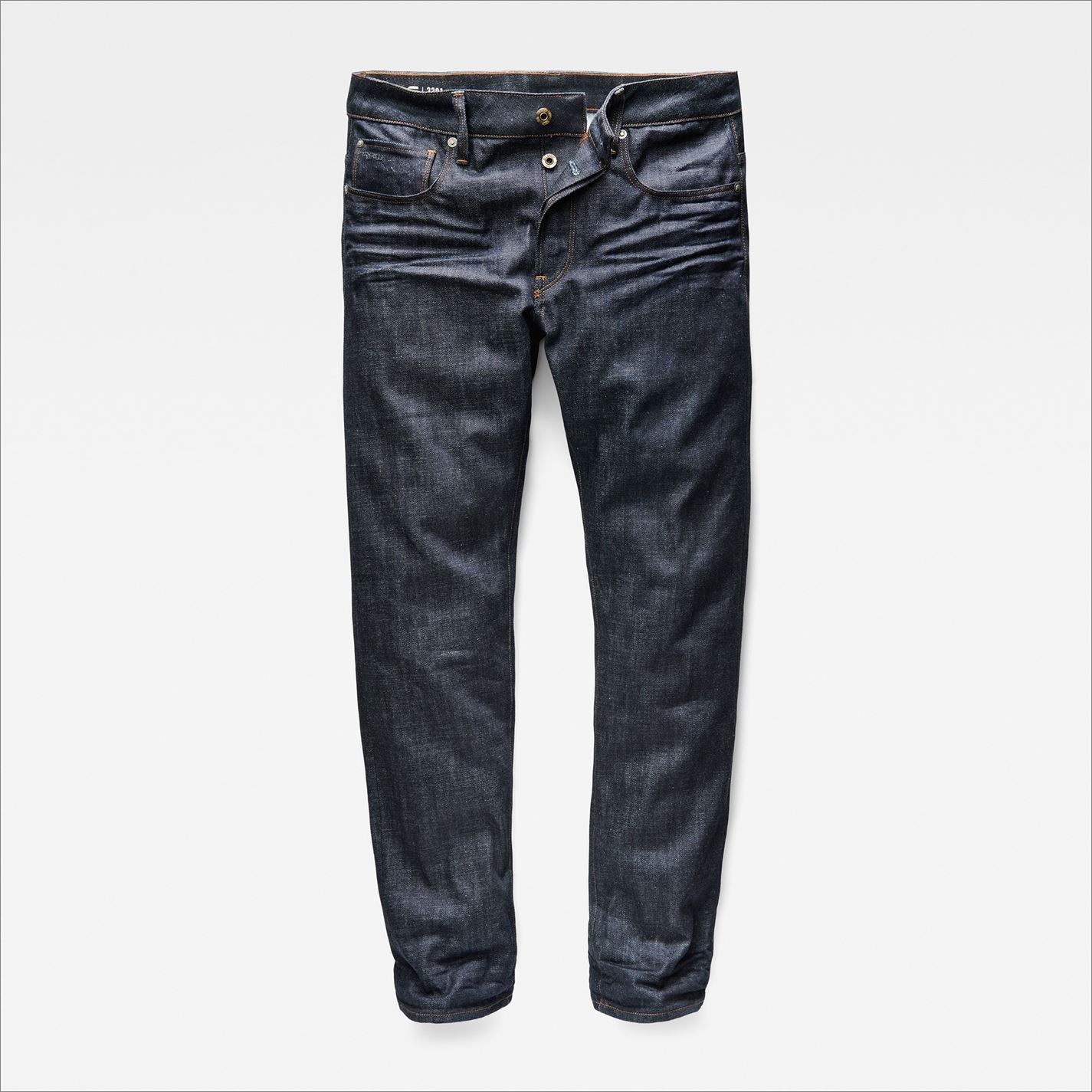 G-Star-Mens-3301-Jeans-Straight-Denim-Trousers-Casual-Pants-Bottoms