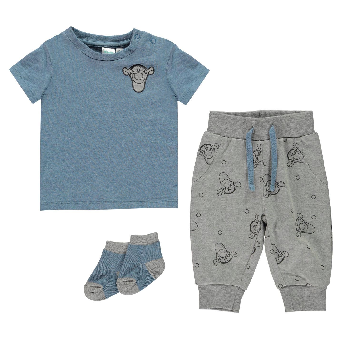 Disney-Kids-Boys-3-Piece-Jogger-Set-Baby-Fleece-Tracksuit-Long-Sleeve-Crew-Neck