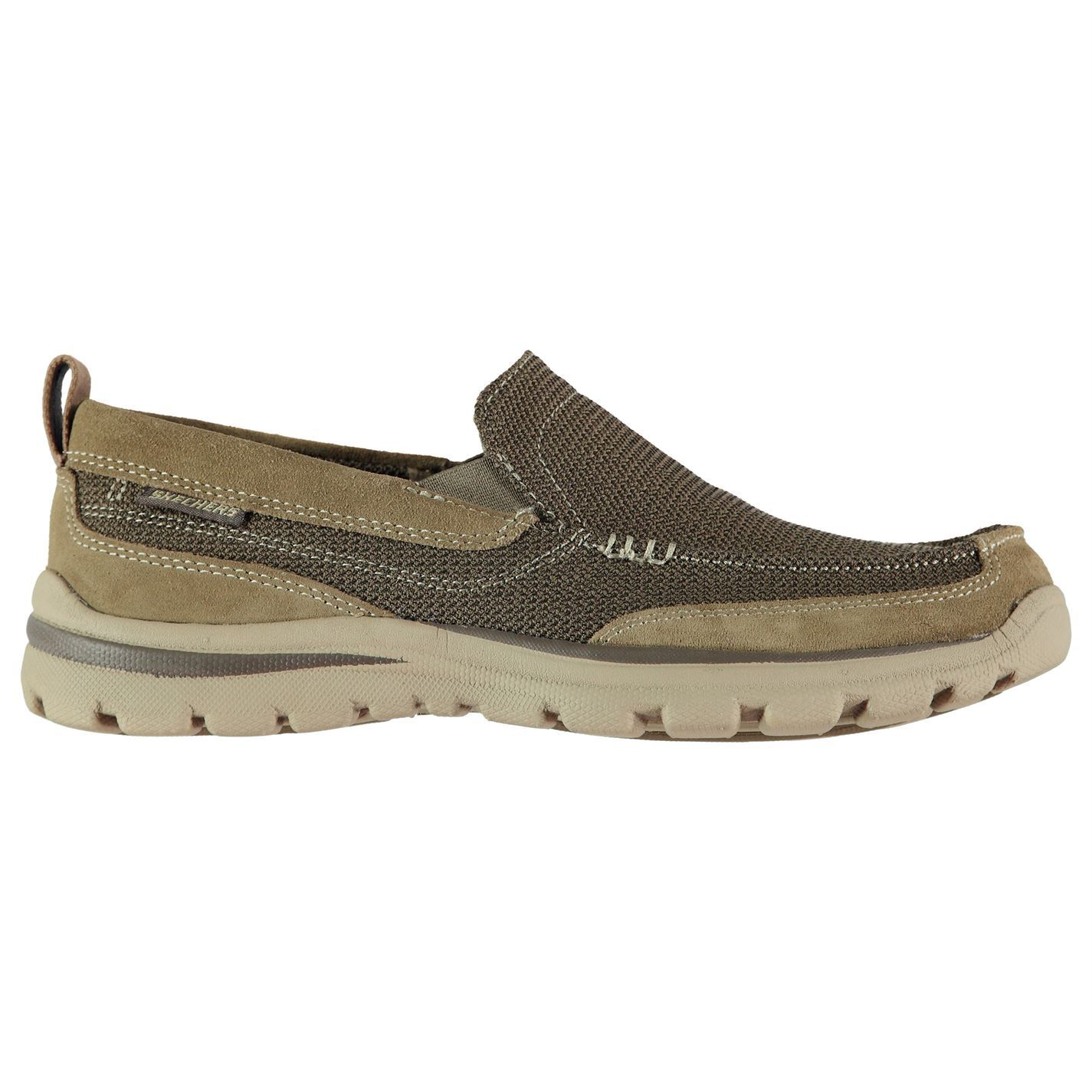 Skechers Mens Superior Milford Shoes Casual Slip On Lightweight Memory Foam