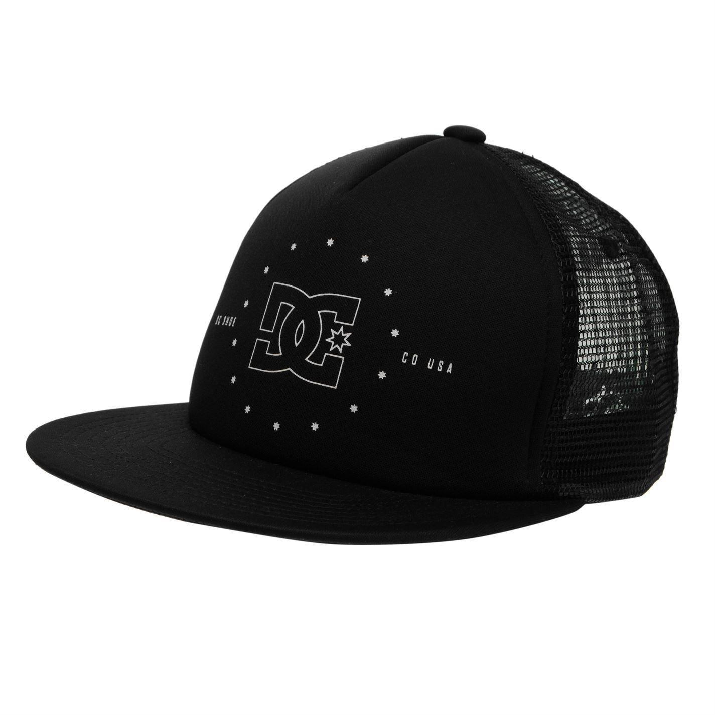 d75533a31b3 DC Mens Gents Stoxel Cap Flat Cover Top Headgear Casual Accessory