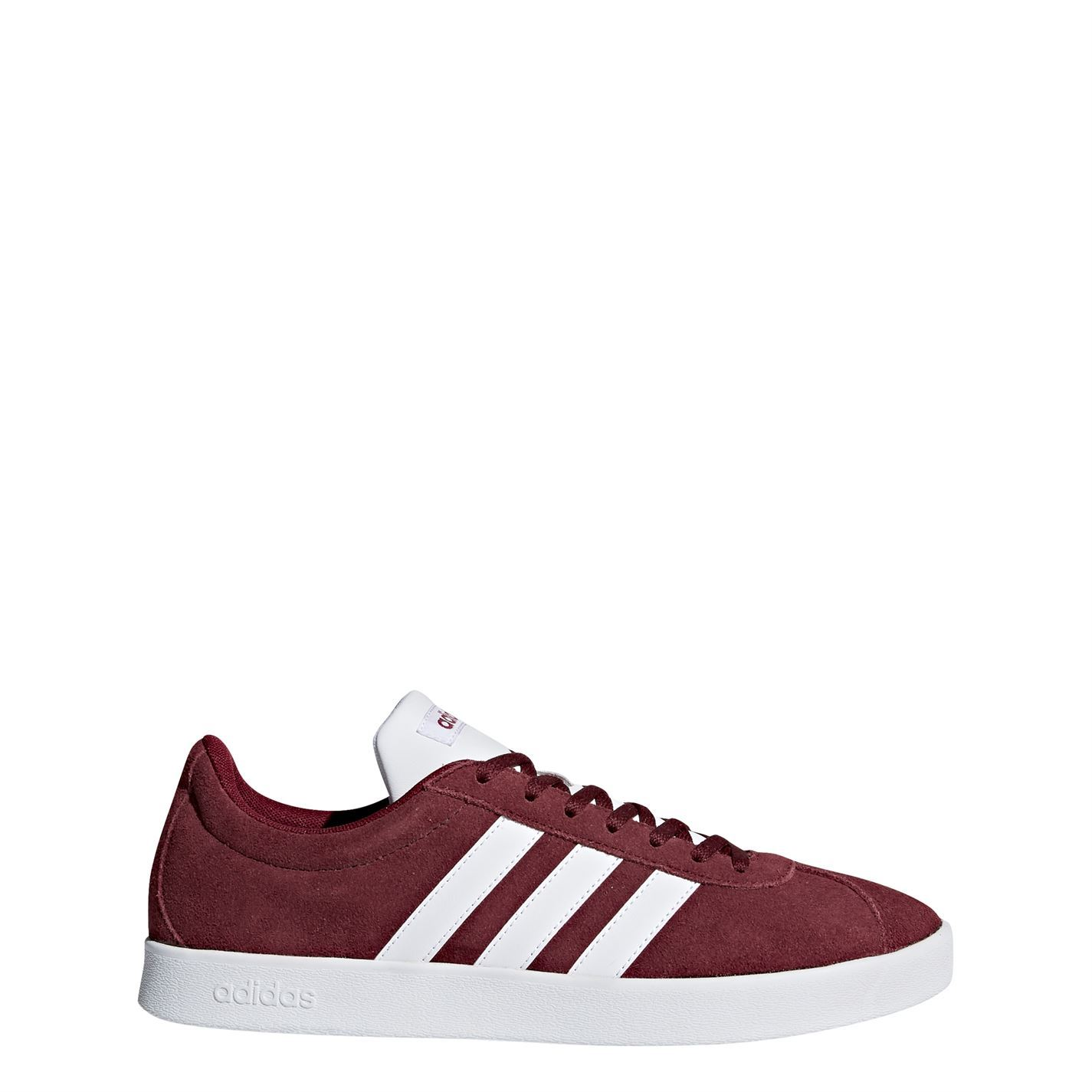 adidas hommes VI Court 2 Trainers Lace Up Cushioned Ankle Collar Ortholite
