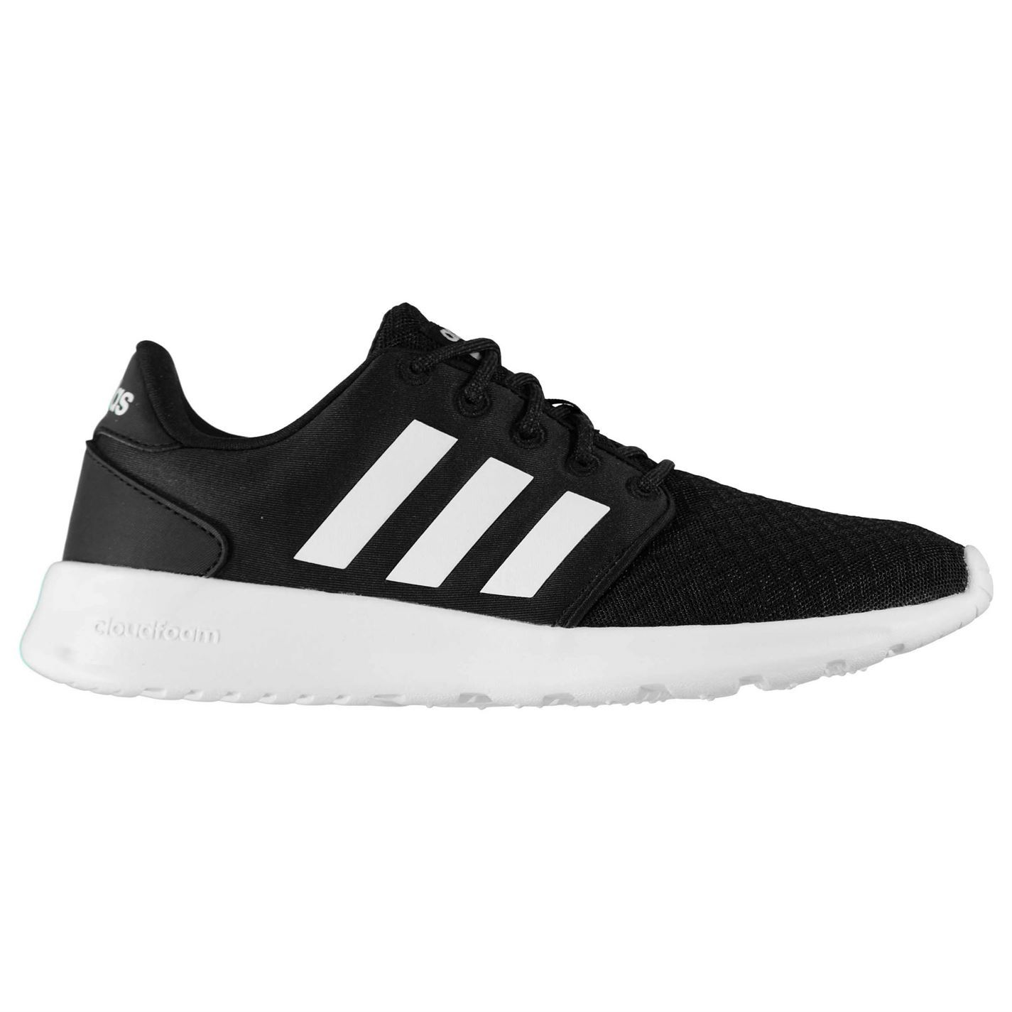 adidas Womens QT Racer Breathable Shoes Runners Lace Up Breathable Racer Padded Ankle Collar 5a2b56