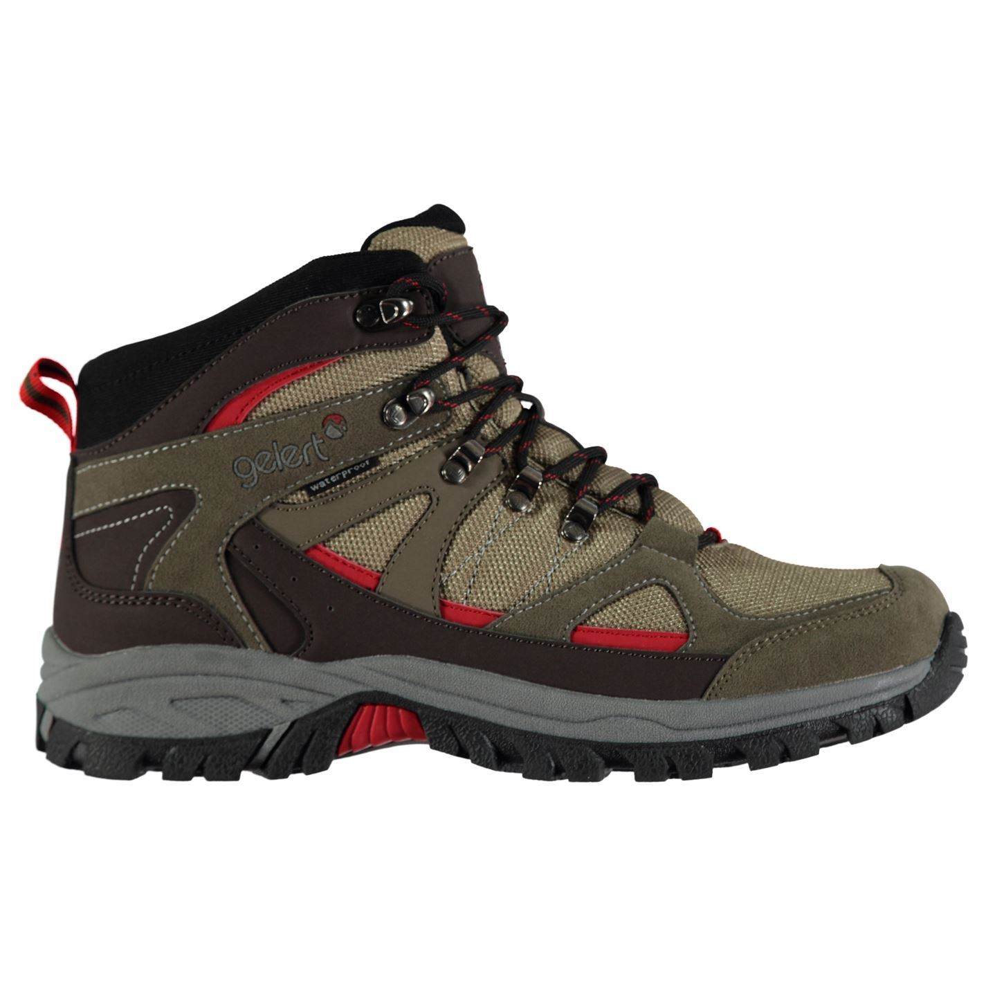 cf8311aafd8 Gelert Mens Snowden Waterproof Walking Boots Lace Up Breathable