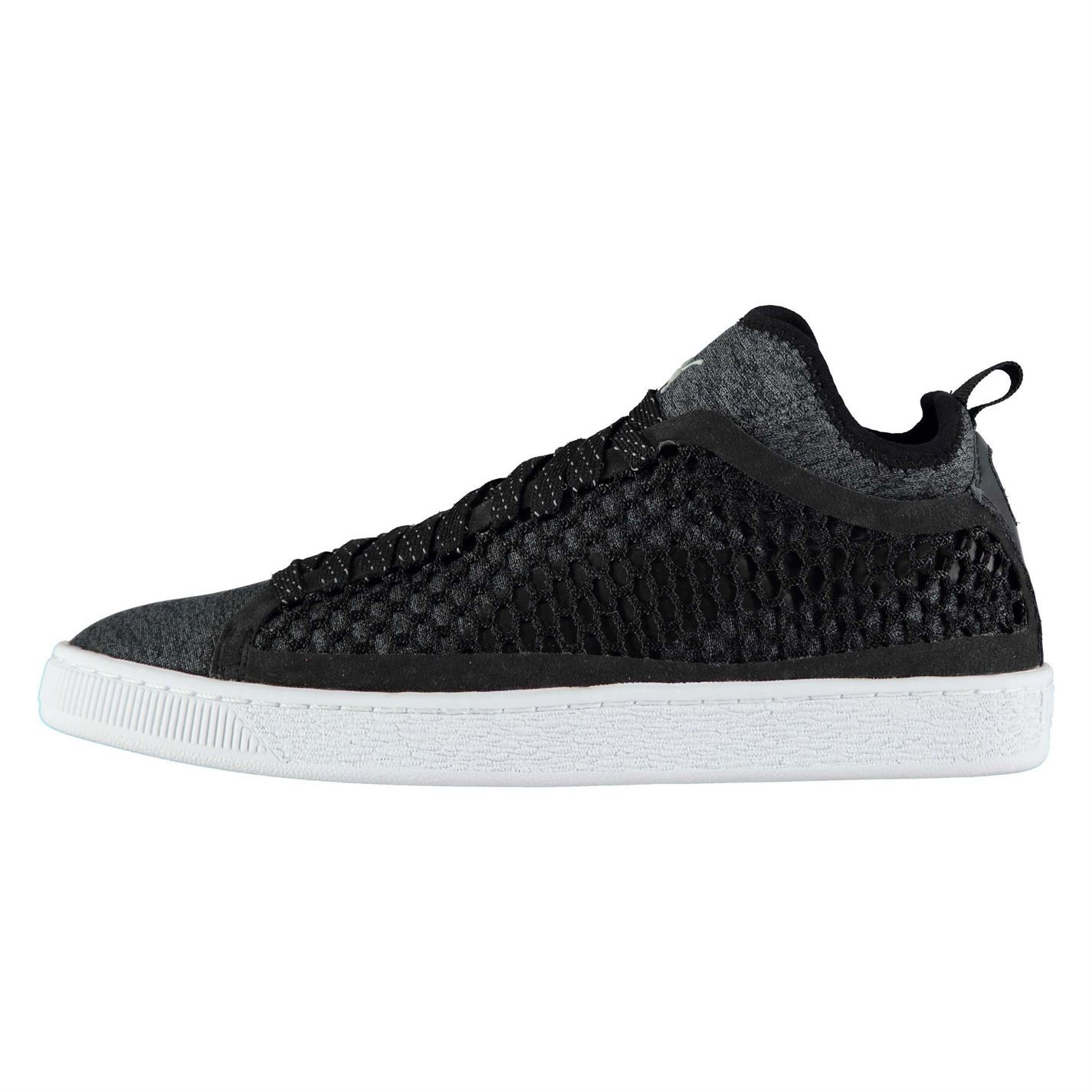5a6956de7eb Details about Mens Puma Basket Classic Netted Trainers Court Lace Up  Lightweight New