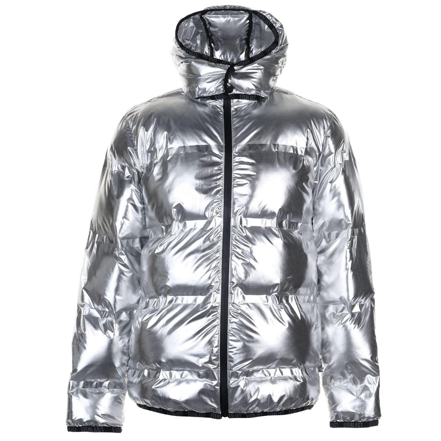 124bc51444 Everlast Mens Bubble Jacket Padded Coat Top Long Sleeve Waterproof ...