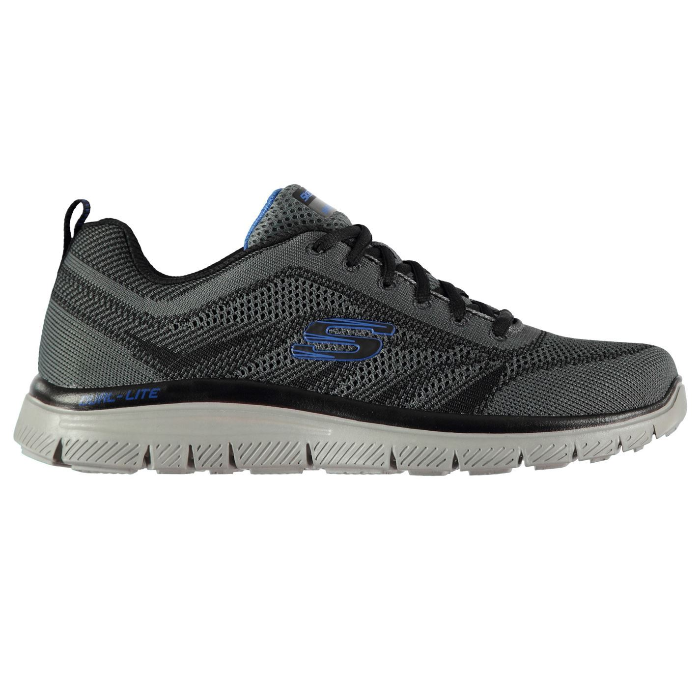 Skechers  Uomo Memory Foam Up Knit Schuhes Runners Lace Up Foam Cushioned Ankle Collar 41089e
