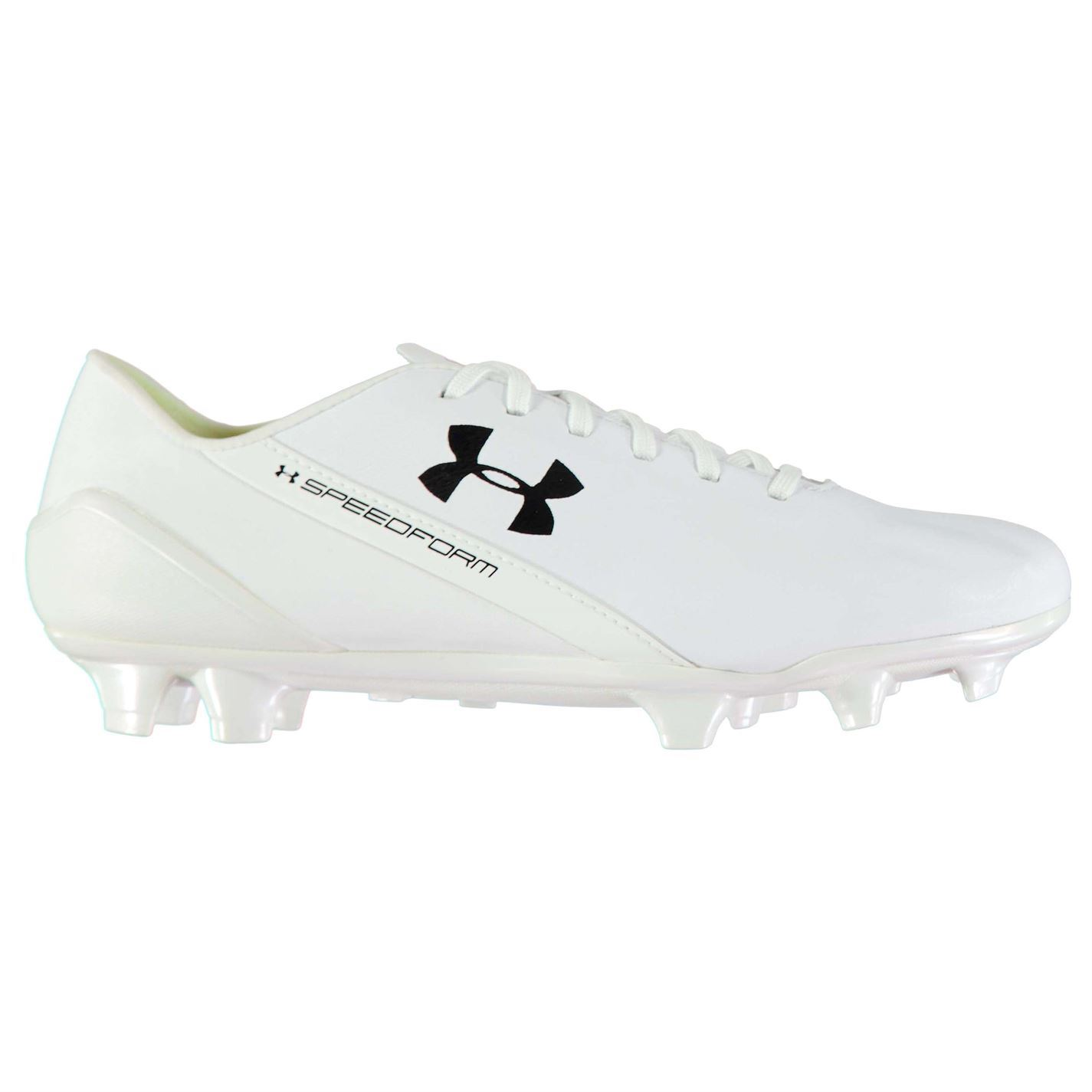 Under Armour  Herren SpeedForm Leder FG Football Stiefel Firm Ground Lace Up Padded