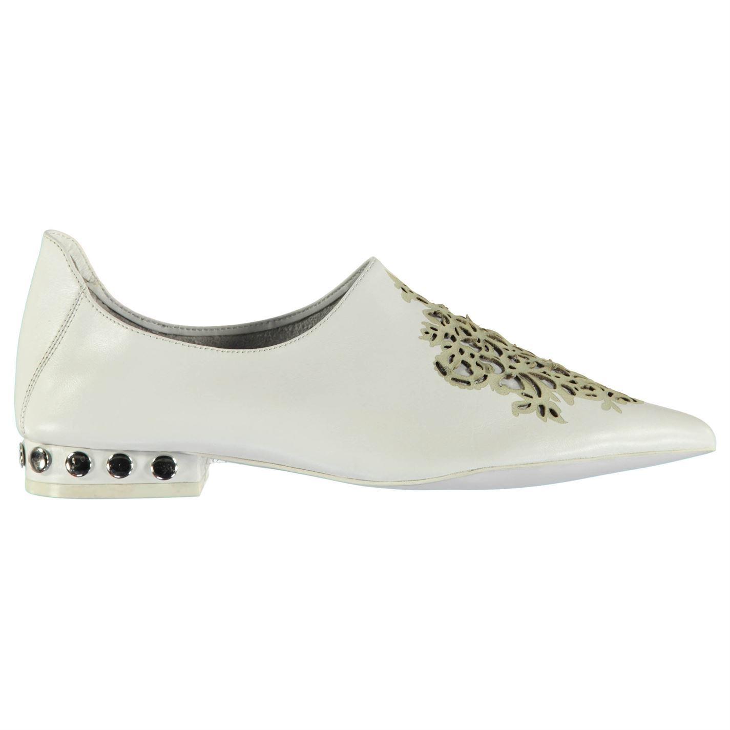Jeffrey Campbell Damenschuhe Cersei Stud Schuhes Slip On Pointed Toe Slight Heel
