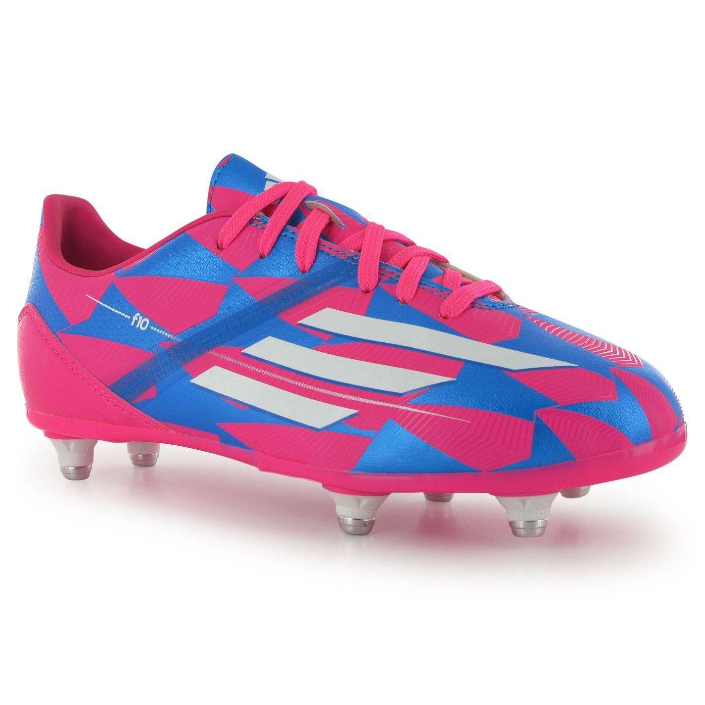Adidas Football chicos F10 TRX SG Childrens Football Adidas Boots formadores studs Sport cc15a6