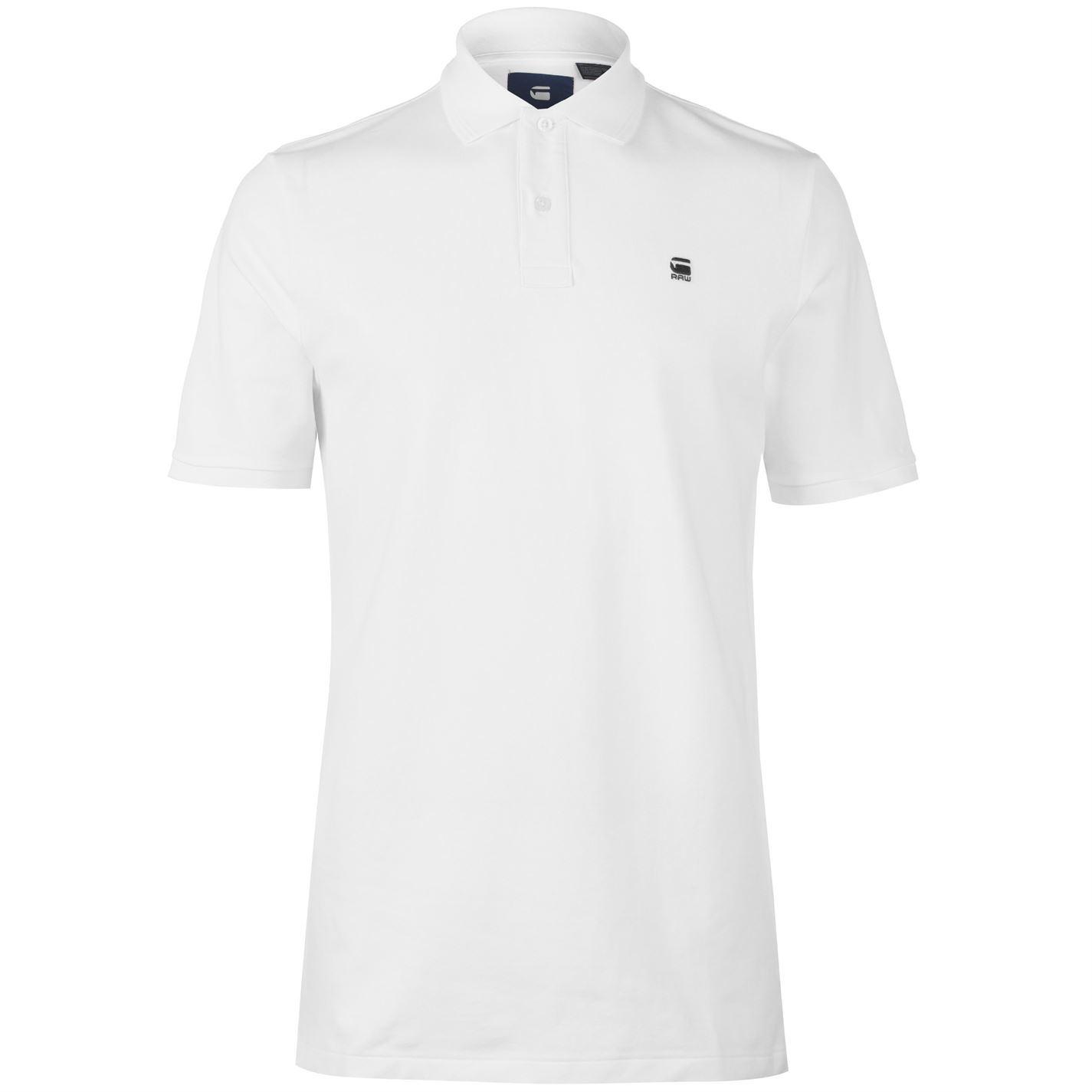 G Star Mens Raw Dunda Polo Shirt Classic Fit Tee Top Short Sleeve ... af087e6551