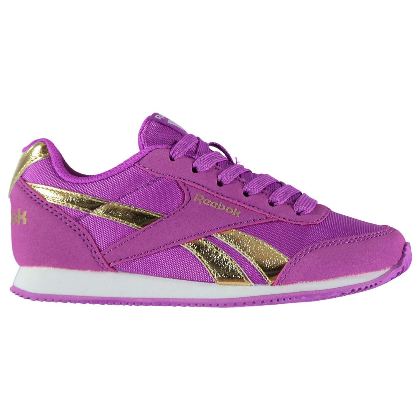 Ragazze-Reebok-Classic-Jogger-RS-Kids-Sneakers-lacci-Tessile-Ortholite