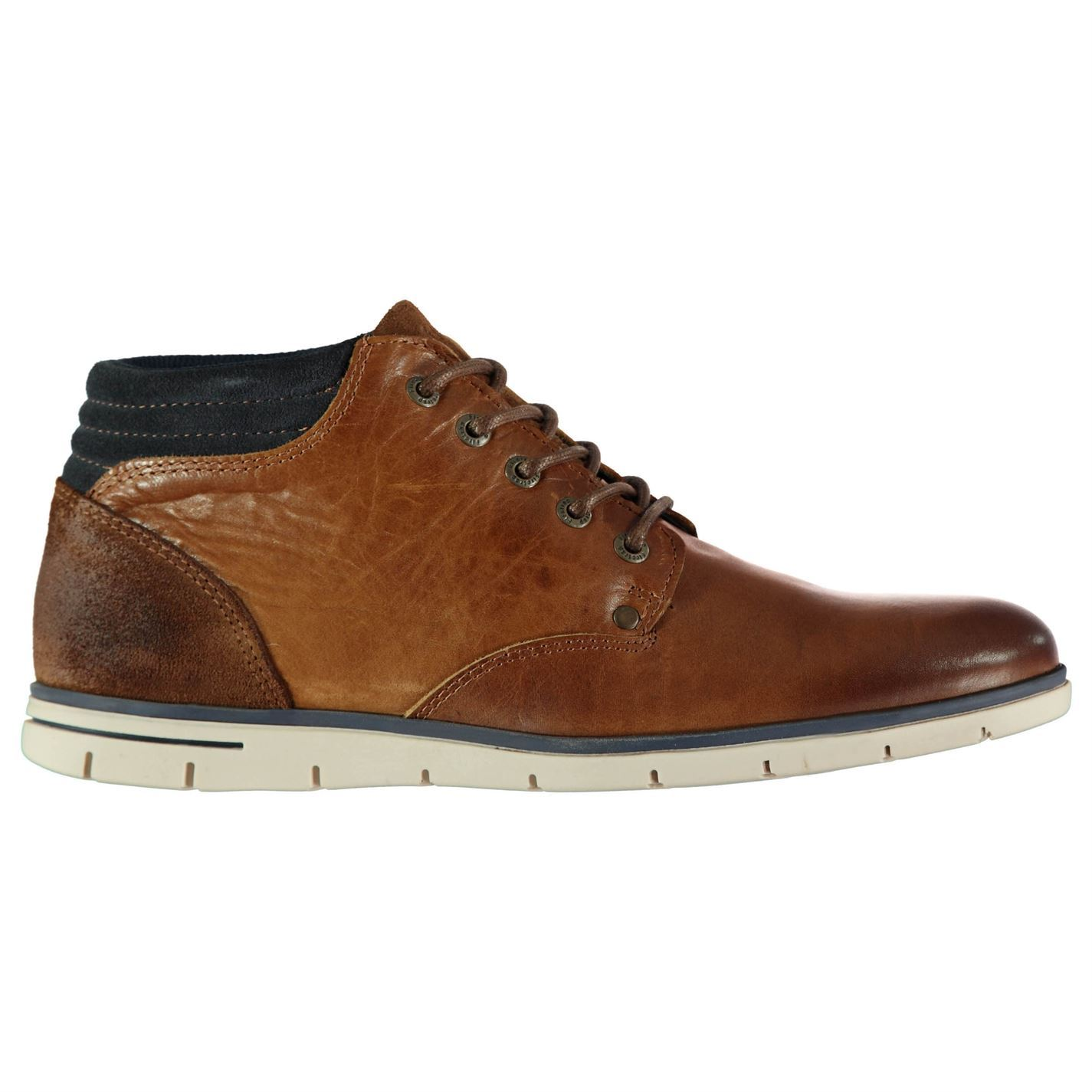 Firetrap  Herren Miller Stiefel Chukka Lace Lace Lace Up Cushioned Ankle Collar Suede TextuROT ed7247