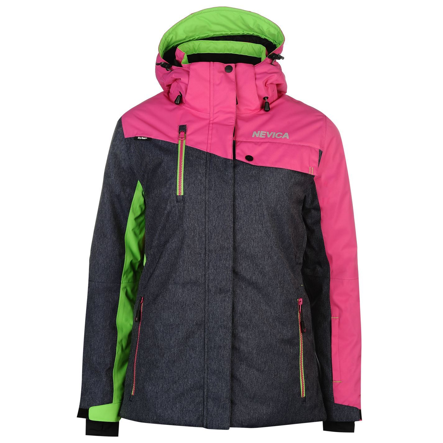 Details about Nevica Womens Fiona Jacket Snow Winter Sports Full Zip Hooded  Top 675de0958c80