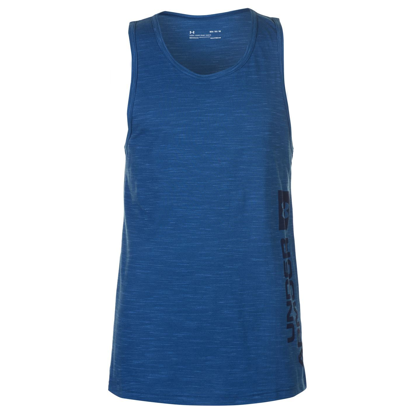 Under Armour Athletictyle Tank Mens Gents Performance Vest Top Sleeveless Round