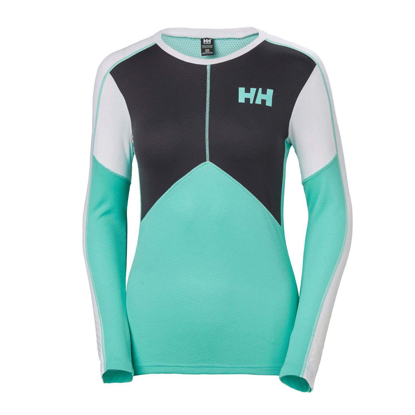 Helly Hansen Damenschuhe Damenschuhe Damenschuhe Lifa Crew Baselayer Top Compression Armor Thermal Skins 7d9284