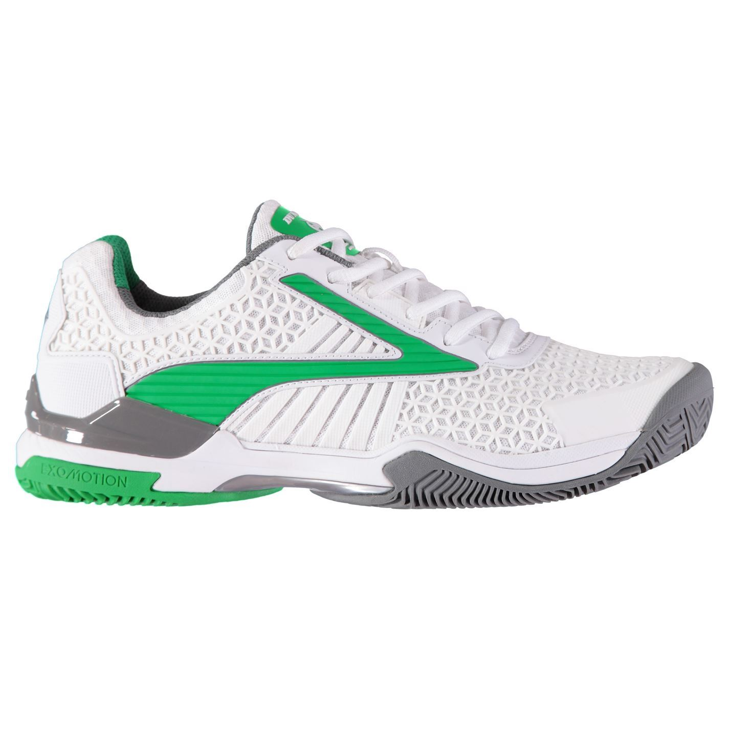 low priced 5e368 8af79 Details about Dunlop Mens Flash Elite Tennis Shoes Court Trainers Lace Up  Padded Ankle Collar