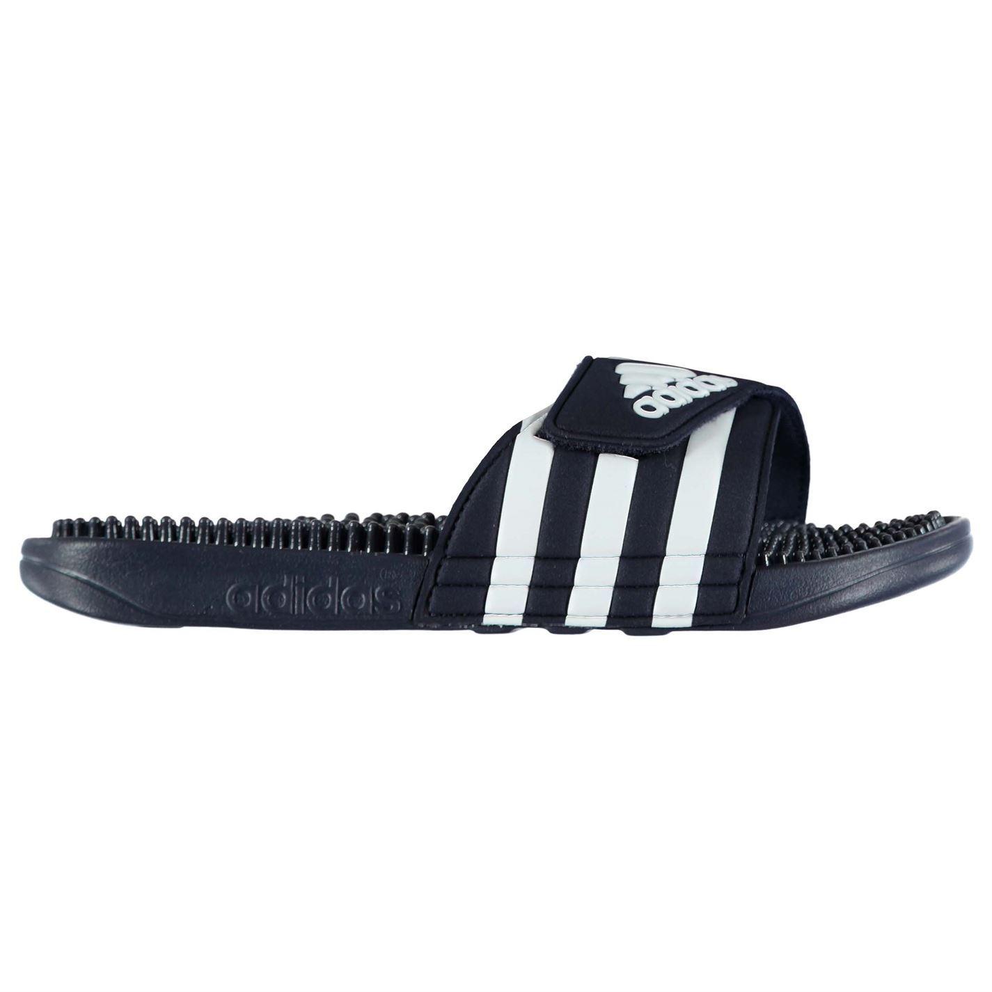 adidas Mens Adissage Slides Sandals Massage Footbed Summer Shoes Footwear