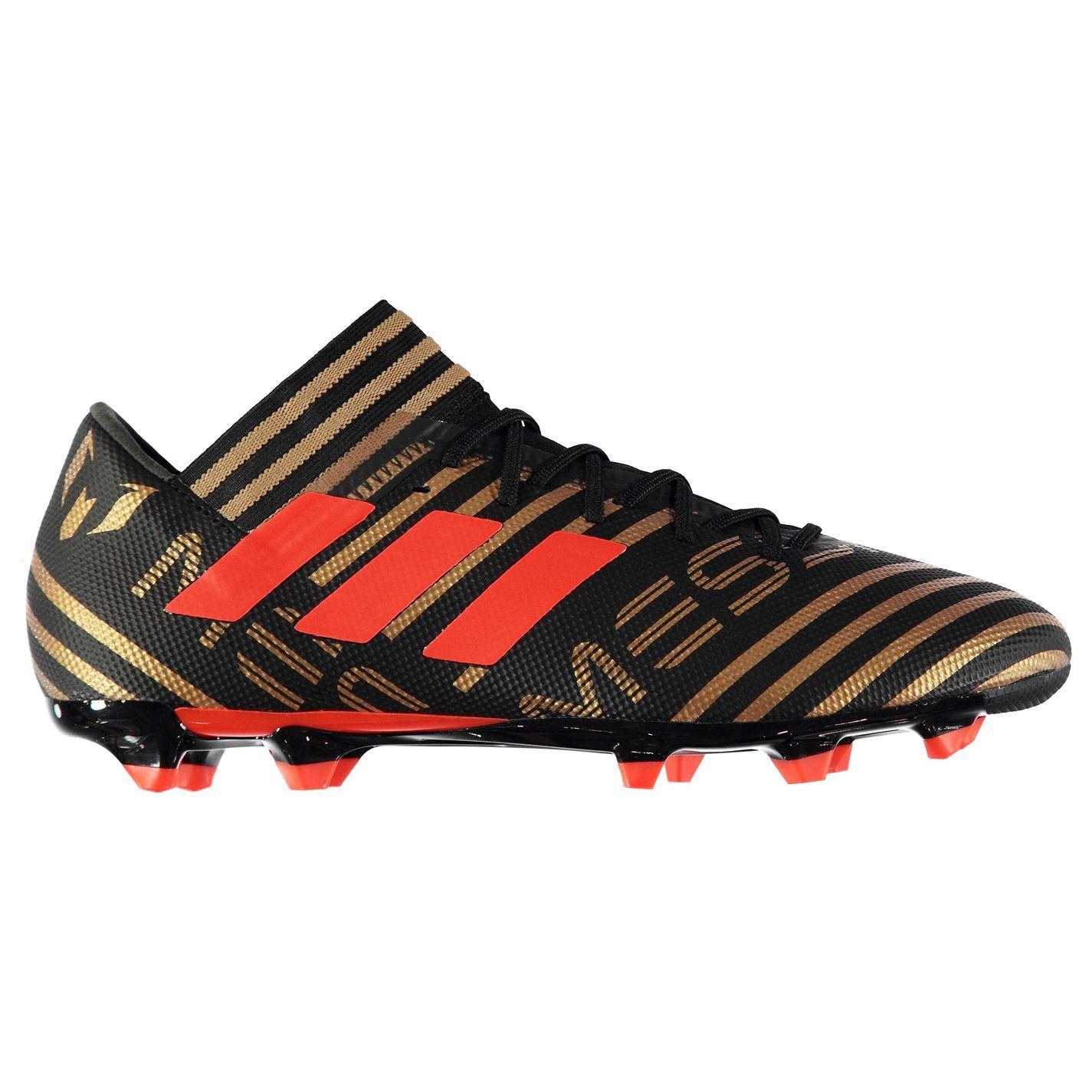 adidas Nemeziz Messi FG Noir Rouge 39 1 3 eBay