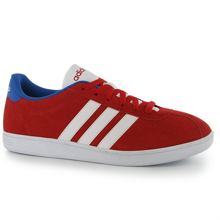9a4b3991c adidas VL Court Suede Trainers Pumps Running Sneakers Lace Up Gents ...