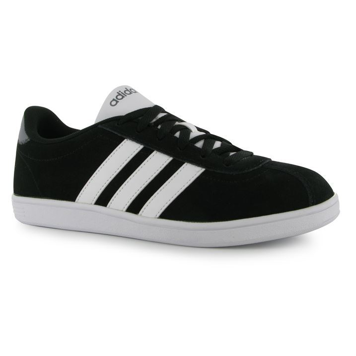 adidas VL Court Suede ΑντλίΡς Προπονητές Running Sneakers Lace Up Gents Mens