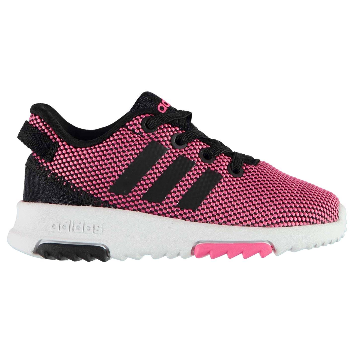kids pink adidas trainers