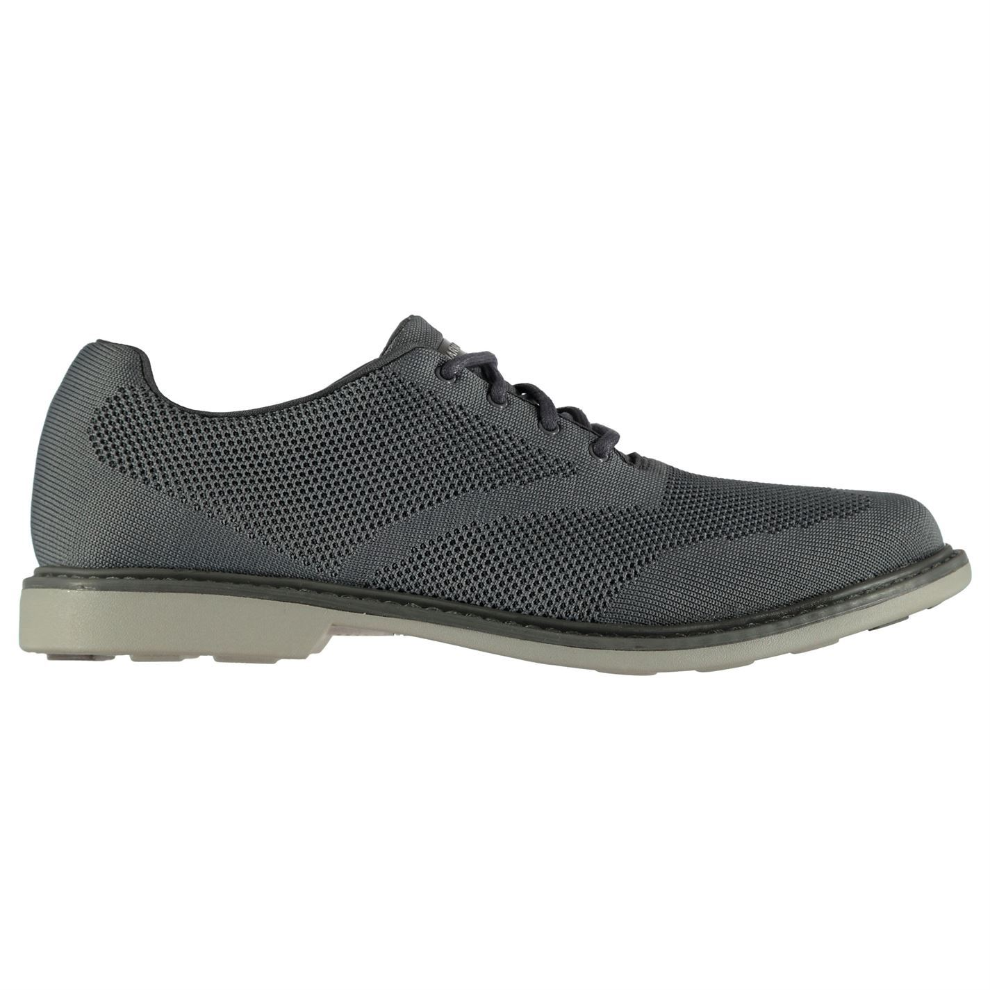 Skechers  Uomo Clubman Padded Schuhes Casual Lace Up Padded Clubman Ankle Collar Dress Knit Memory 2fdb84