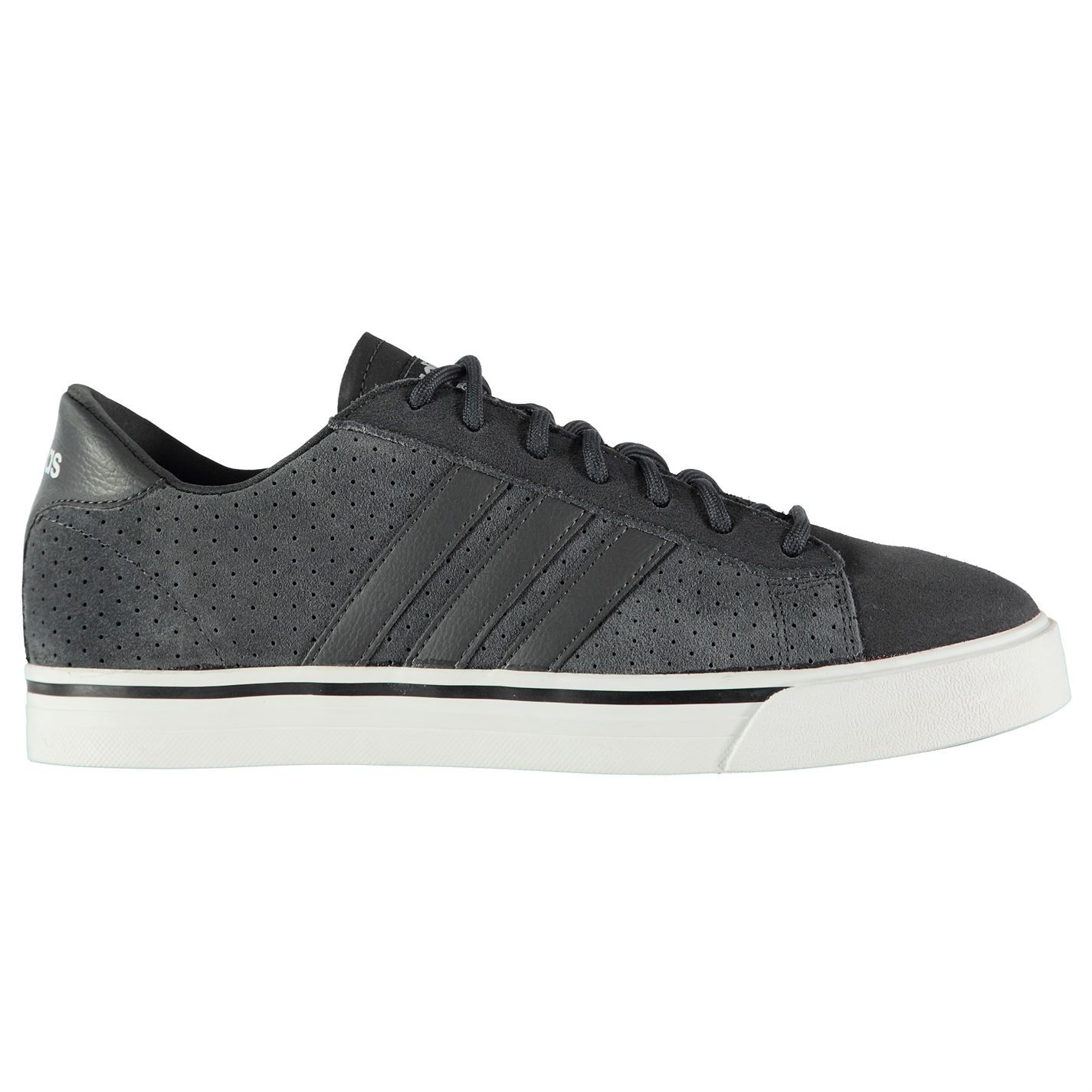 Adidas Cloudfoam Suede Super Daily Schuhes  Uomo Gents Suede Cloudfoam Sneakers Laces Fastened 0266f0