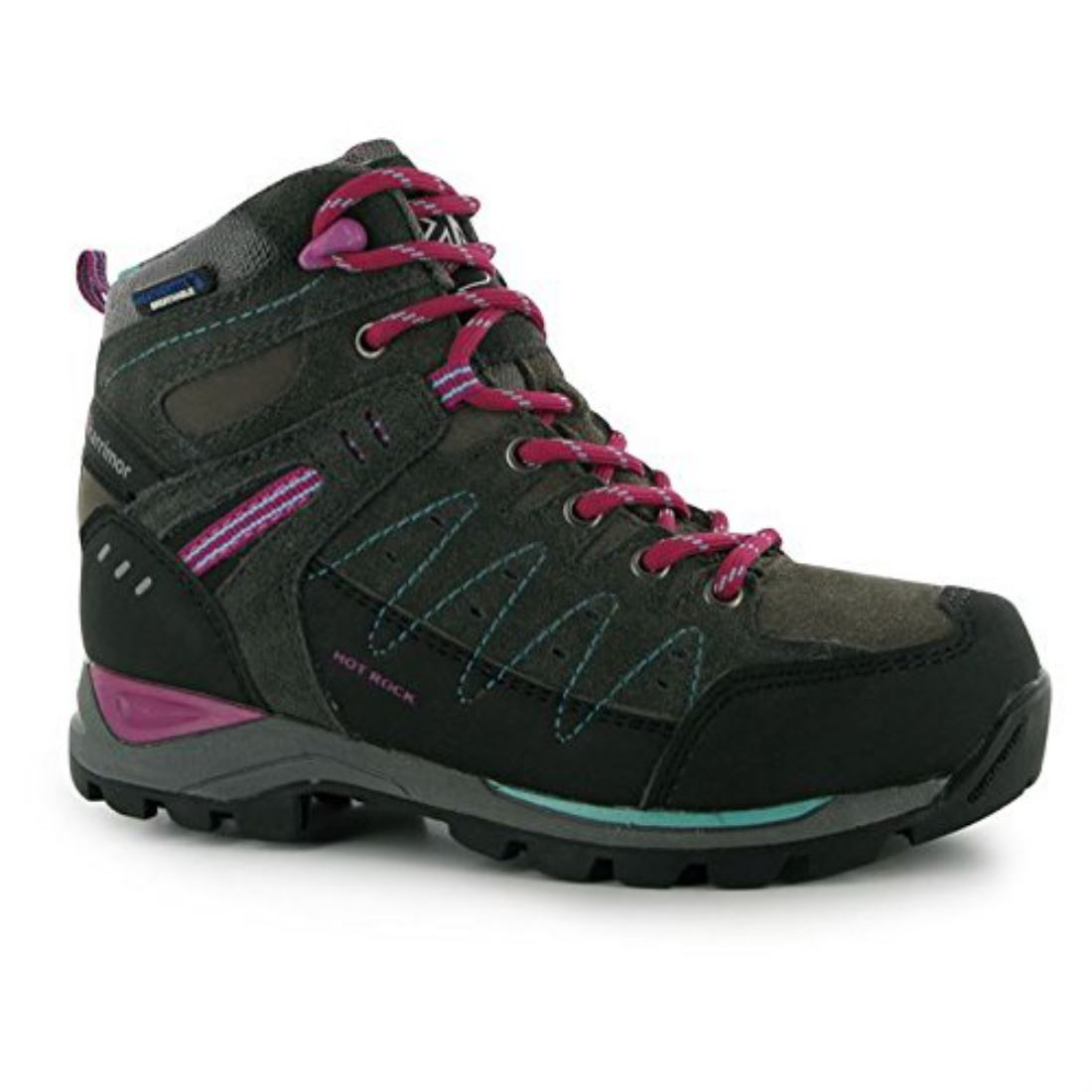 Karrimor-Hot-Rock-Hiking-Trekking-Breathable-Walking-Shoes-Lace-Up-Boys