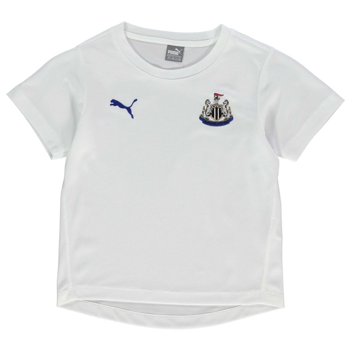 Puma Boys Newcastle United Performance T Shirt Top Childrens Casual