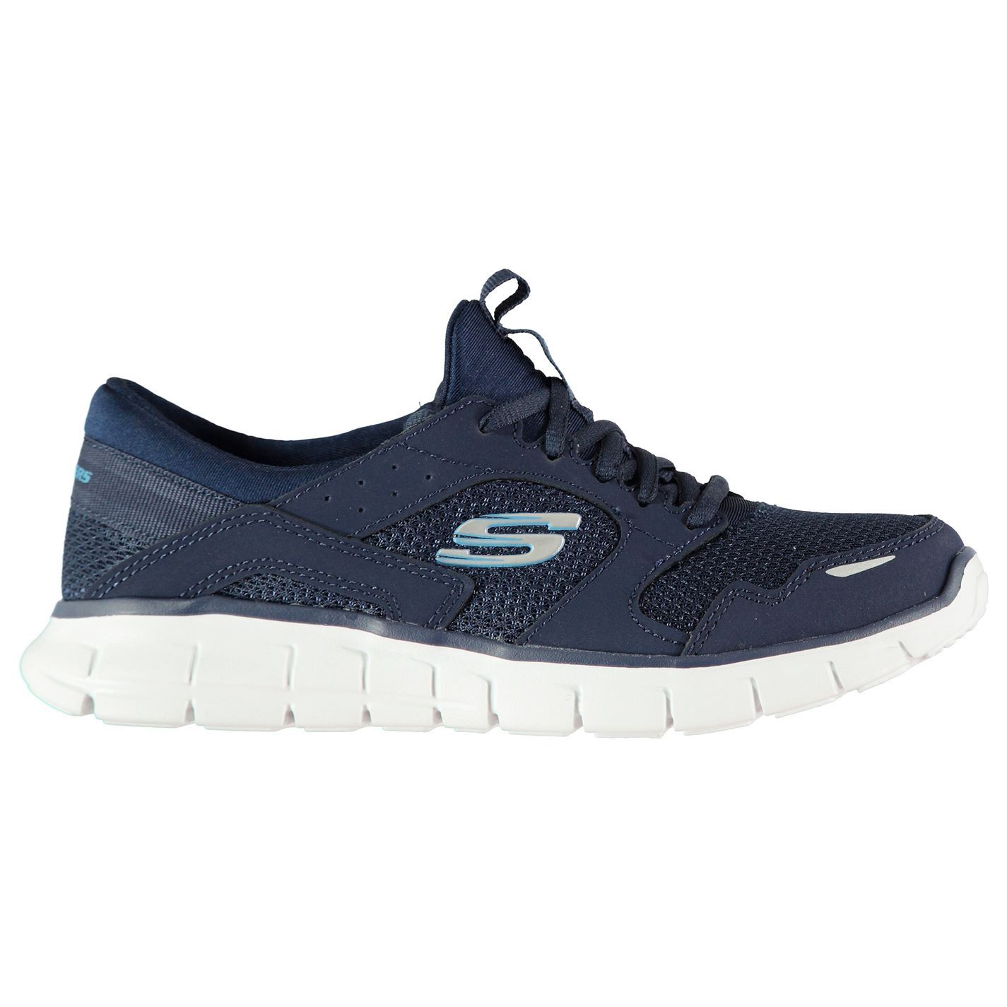 Skechers Womens Flex Runner Trainers Runners Lace Up Breathable Mesh Panels