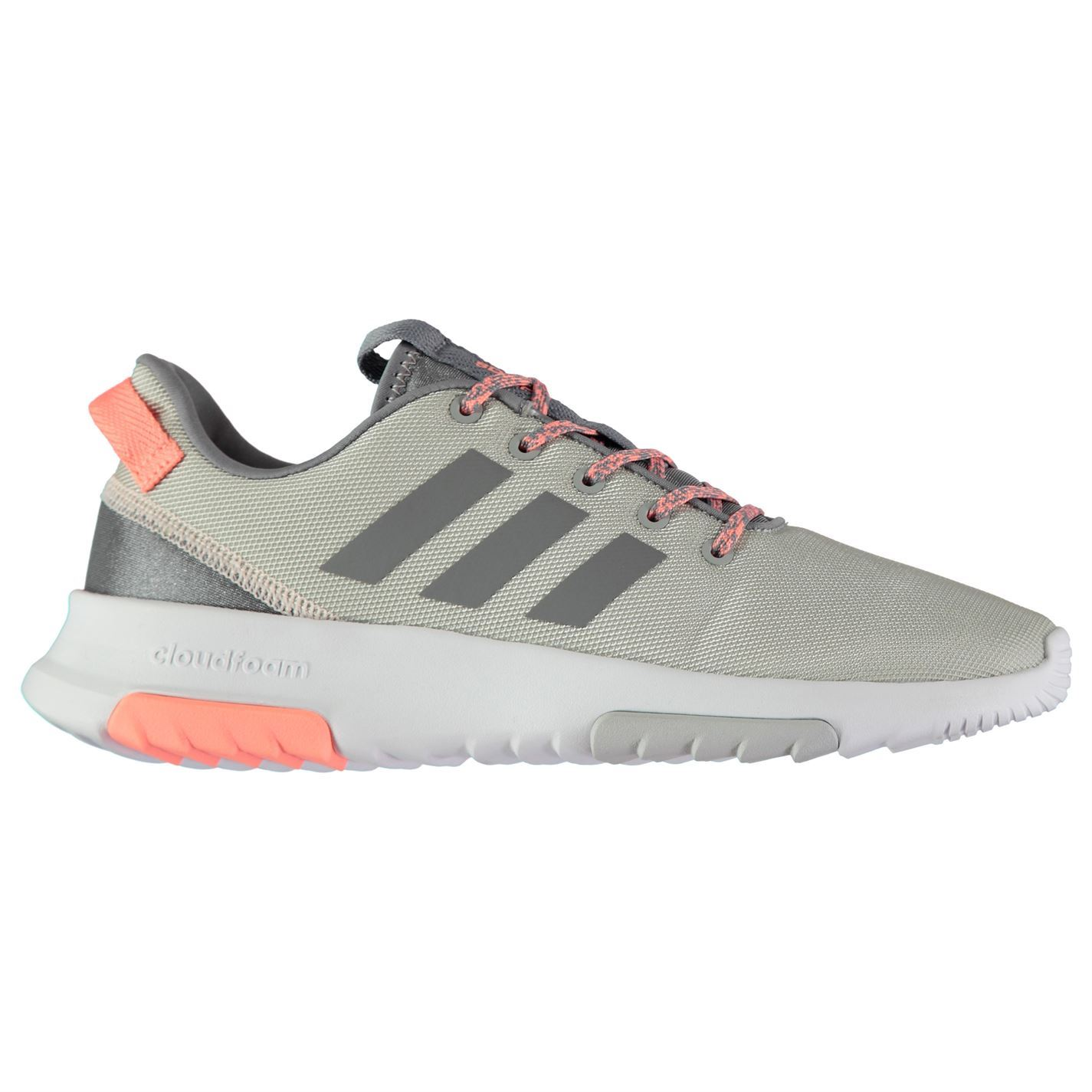 adidas Damenschuhe CF Racer Trainers Runners Lace Up Breathable Lightweight Mesh