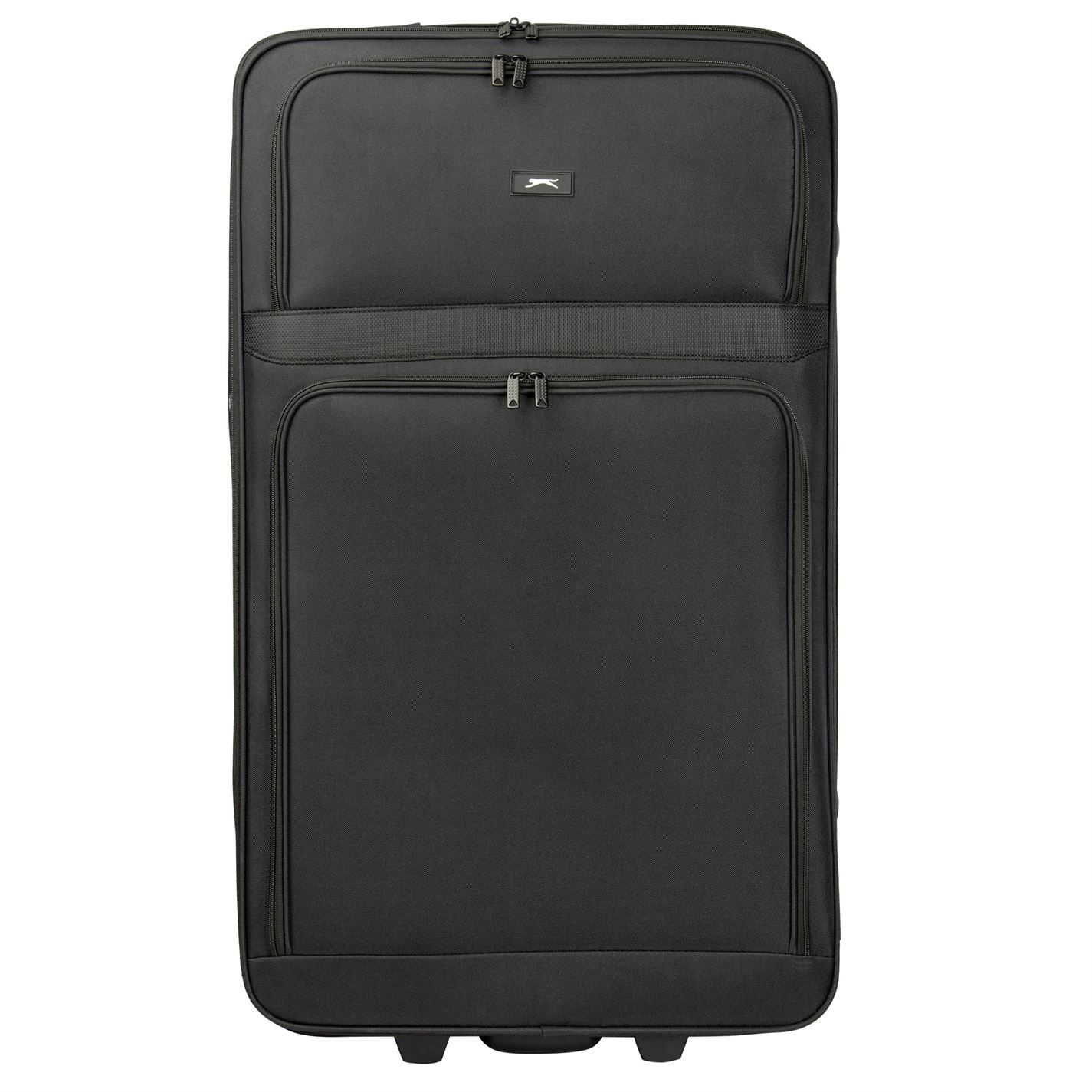 6a96c96fe1 Slazenger-Travel-Luggage-Lightweight-Wheeled-Holdall-Carryall-Trolley-
