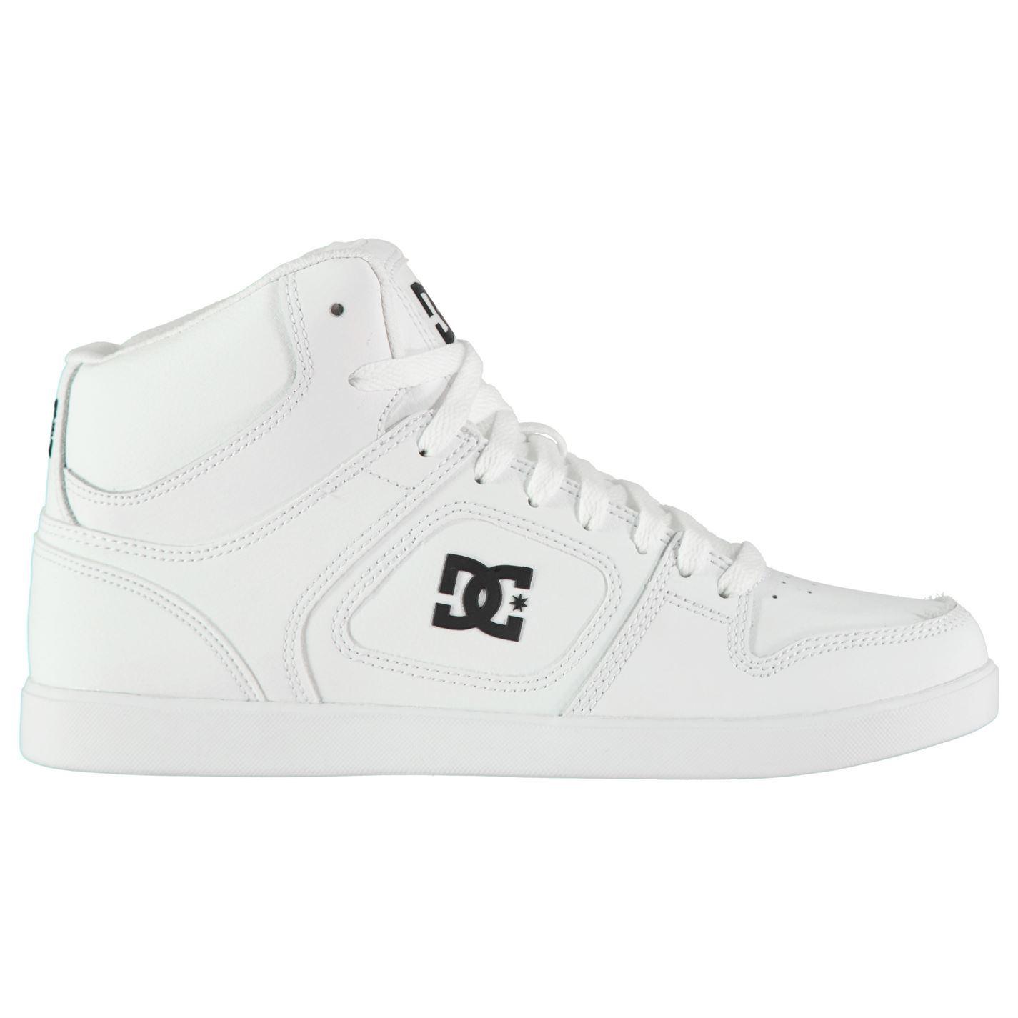 Para Hombre Zapatillas de Skate DC de Tenis con Cordones tonal de DC alta Union Costura Nuevo c5ce91