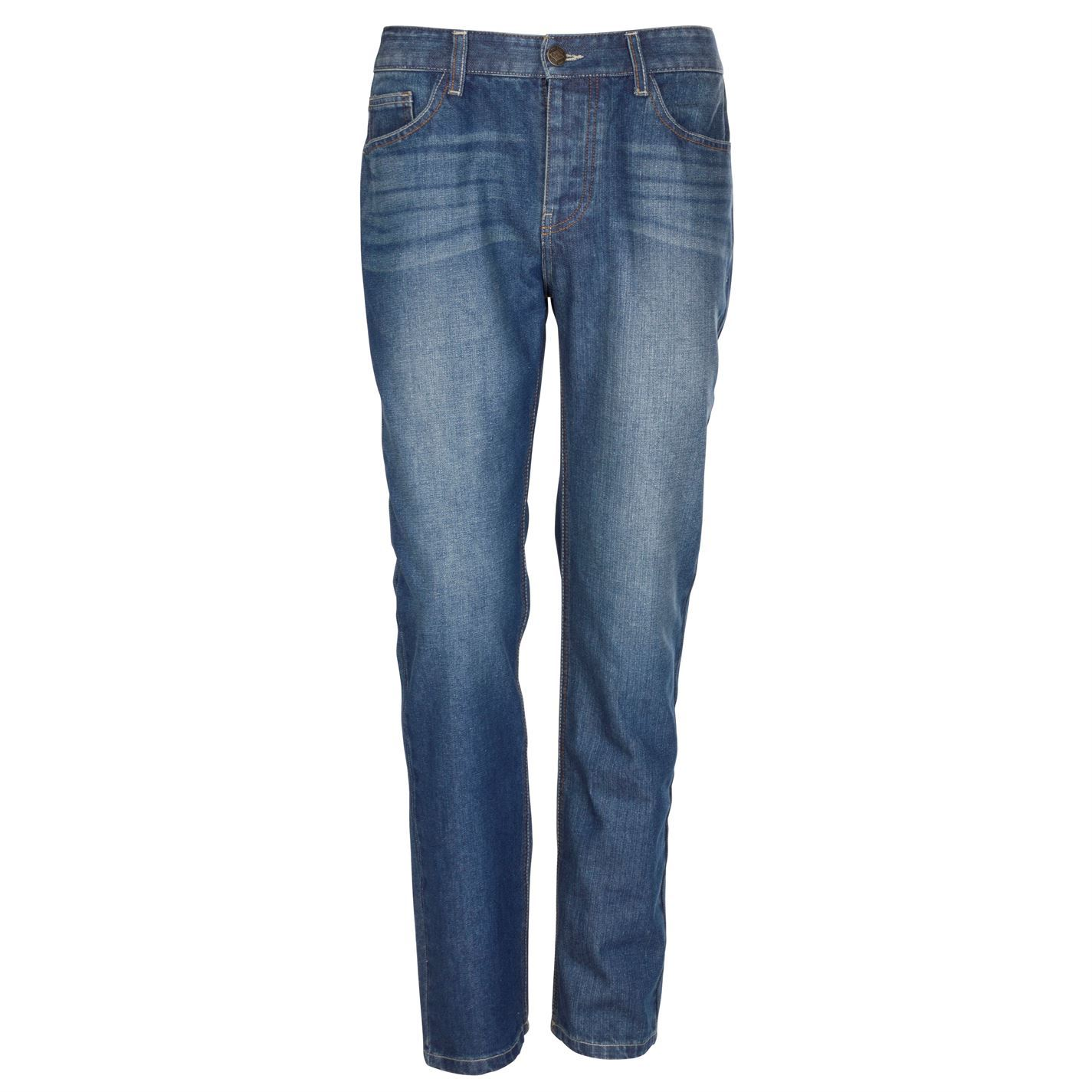 Lee-Cooper-Mens-Classic-Regular-Fit-Jeans-Straight-Pants-Trousers-Bottoms-Cotton