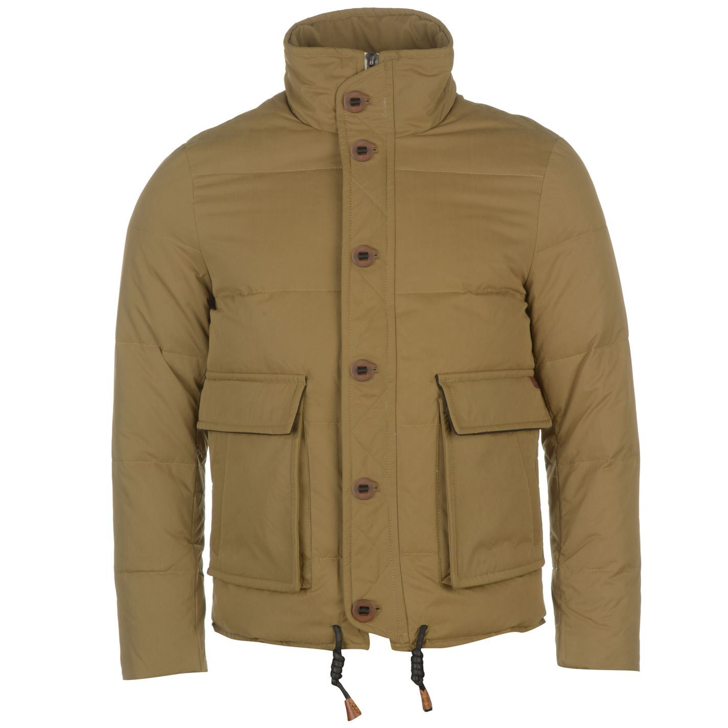 Lee Cooper Mens Gents Heavy Down Jacket Zipped Clothing | EBay