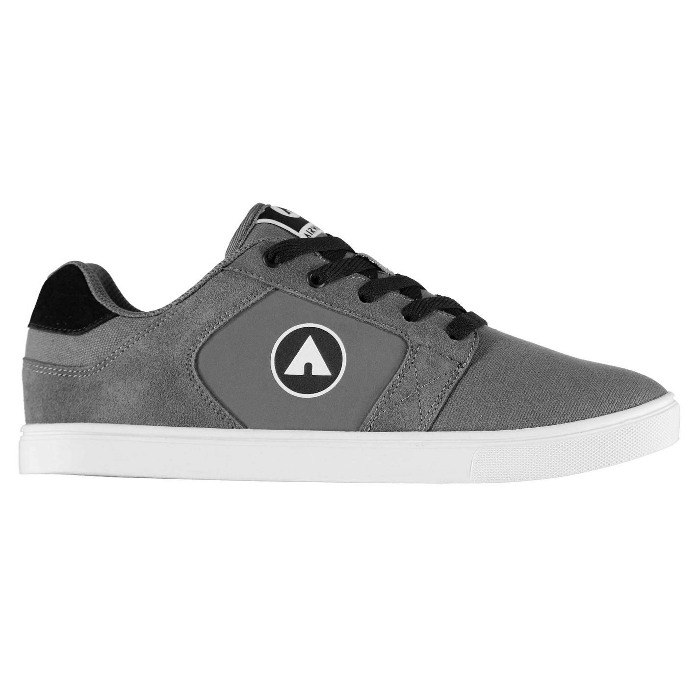 Airwalk Musket Skate Shoes Mens Gents Laces Fastened