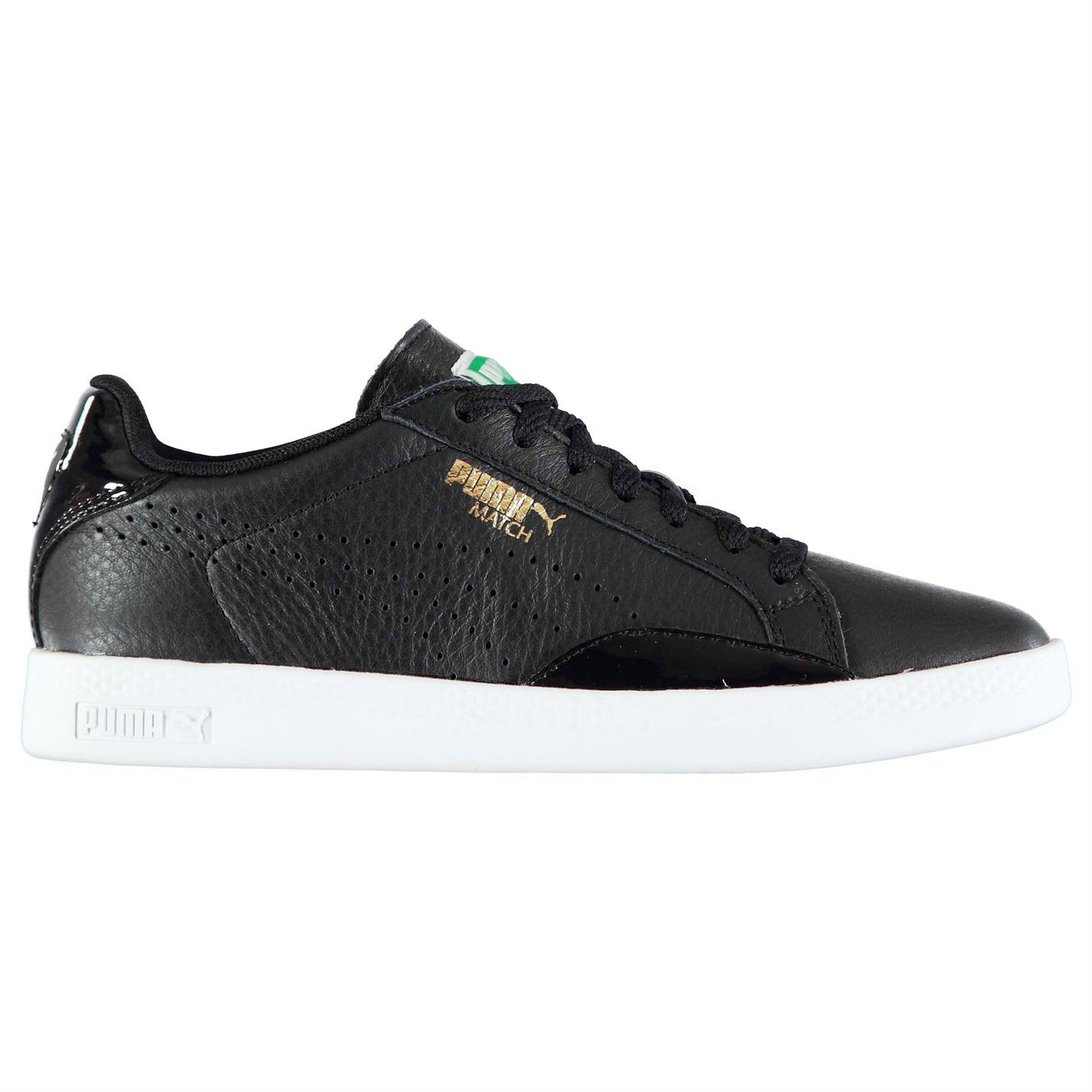 Puma Womens Match Lo BW Padded Trainers Lace Up Shoes Padded BW Ankle Collar Casual 050af7