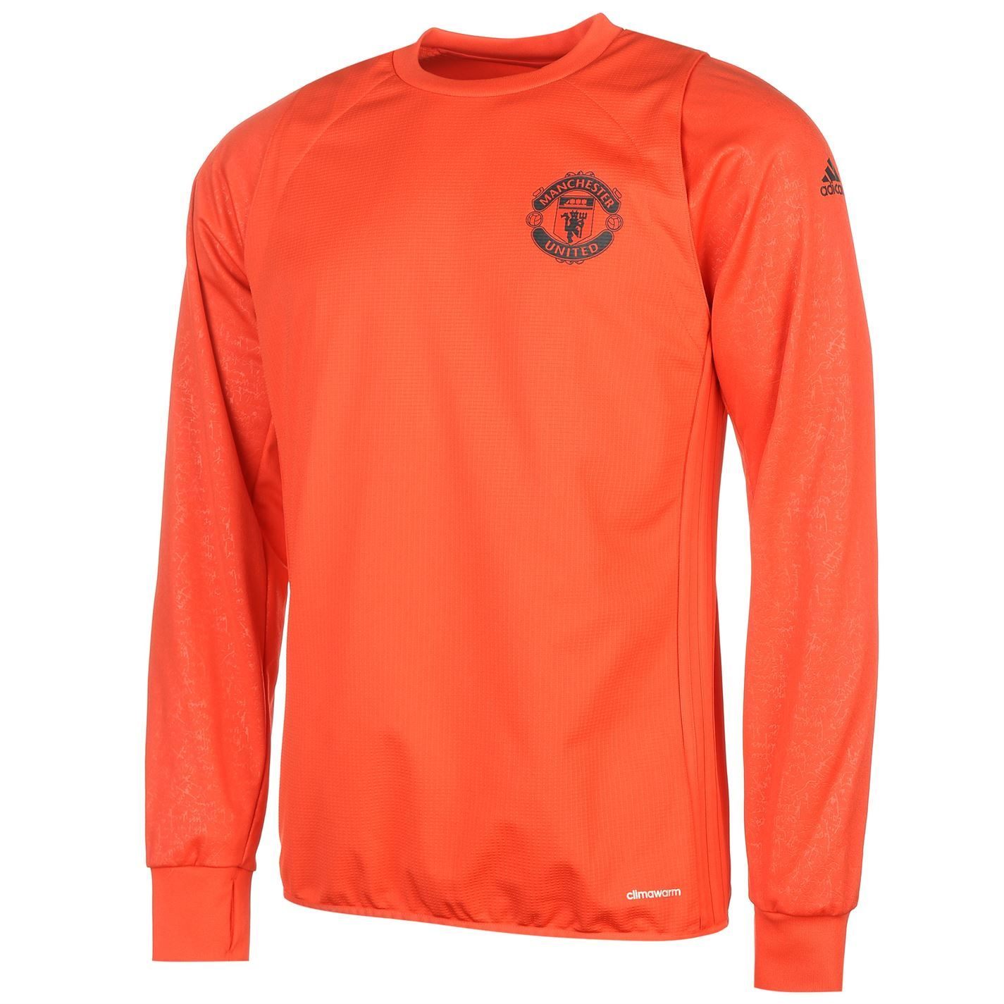 adidas Mens Gents Manchester United EU Training Top Sports Clothing;  Picture 2 of 2