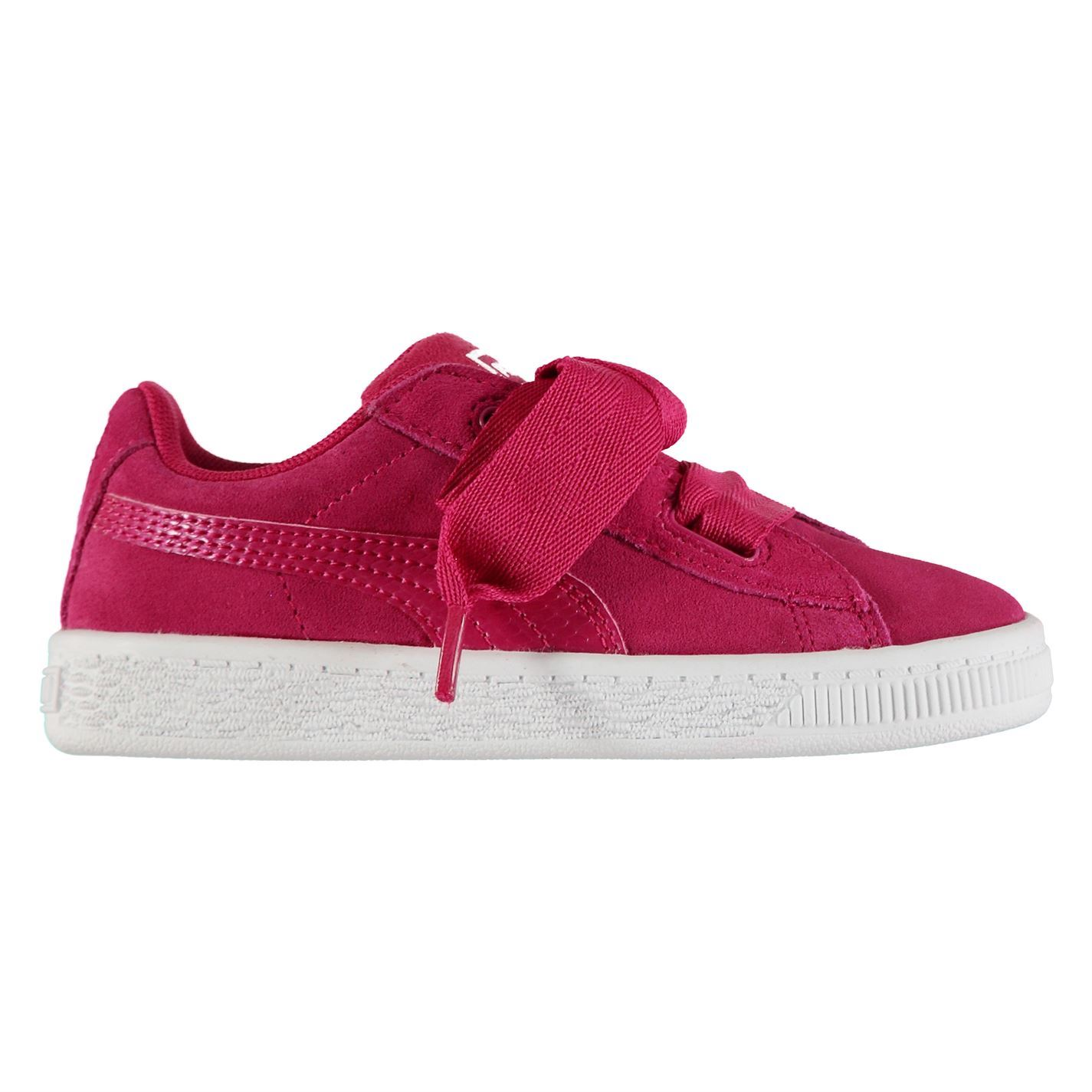 aaf7052e99556f ... Kids Puma Suede Heart Trainers Metallic Oversized New Picture 2 of 2  first look 339f0 a619c  Offers Womens shoes ...