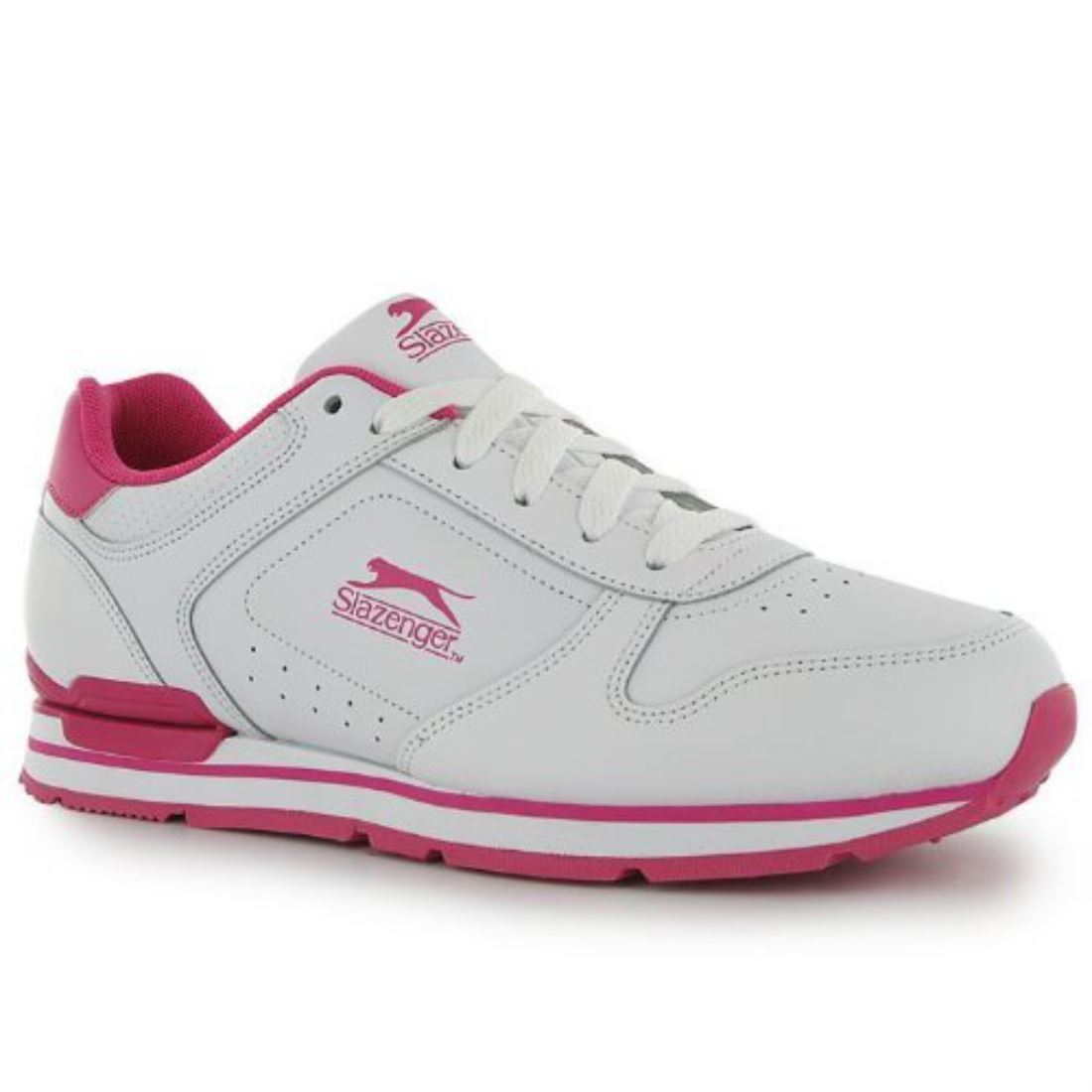 36e8fd015e Slazenger Classic Womens Ladies Trainers Sports Everyday Casual ...