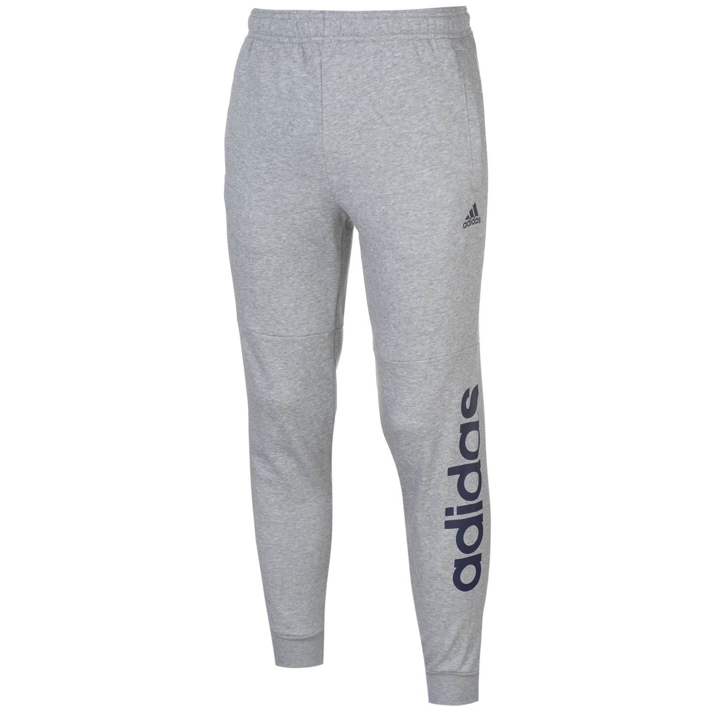 af1426112f65 The Mens adidas Lined Taped Fit Fleece Pants have been designed with a  elasticated waistband with an adjustable inner drawcord for a secure and  comfortable ...