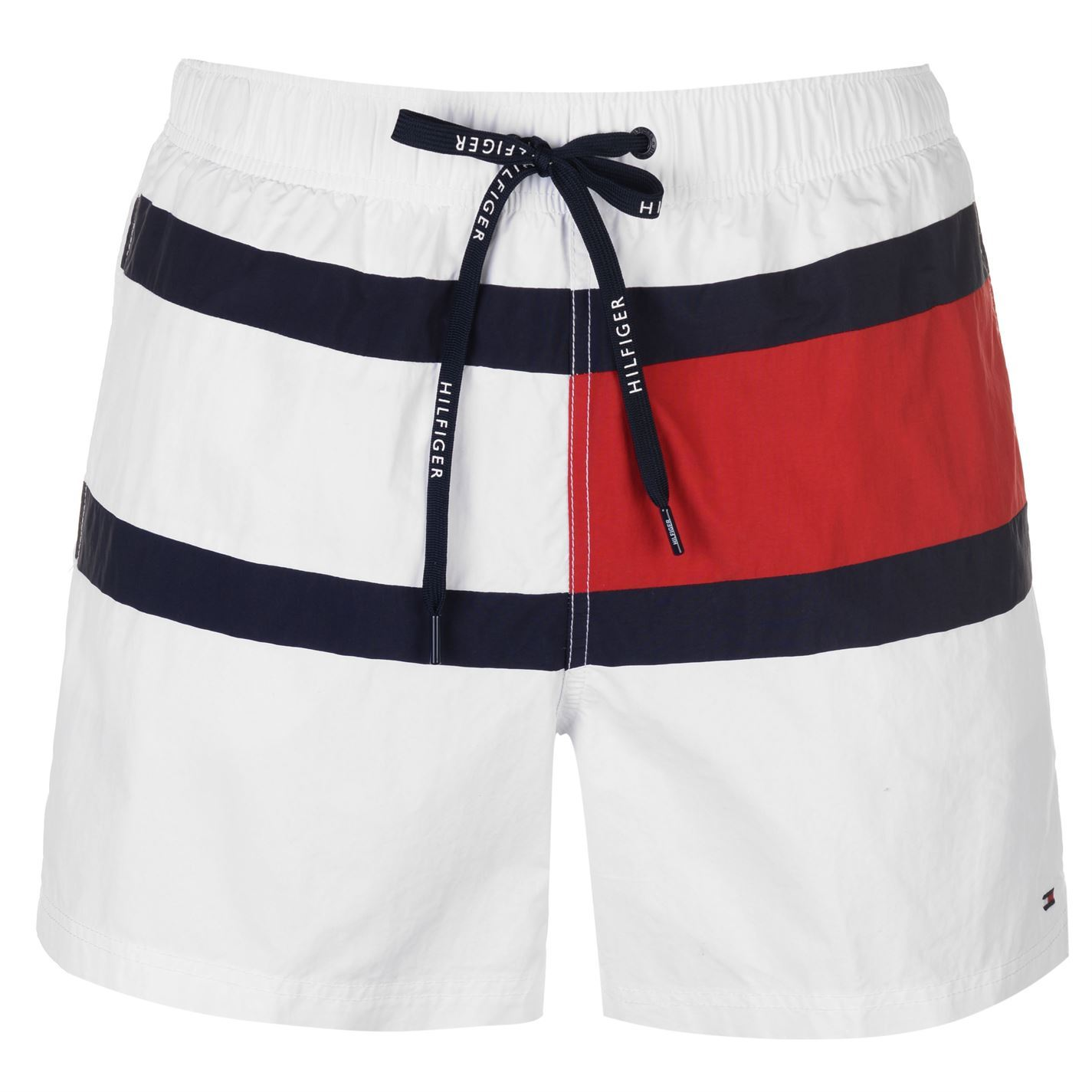 c2f7afe21c Details about Mens Tommy Hilfiger Drawstring Swim Shorts Lightweight New