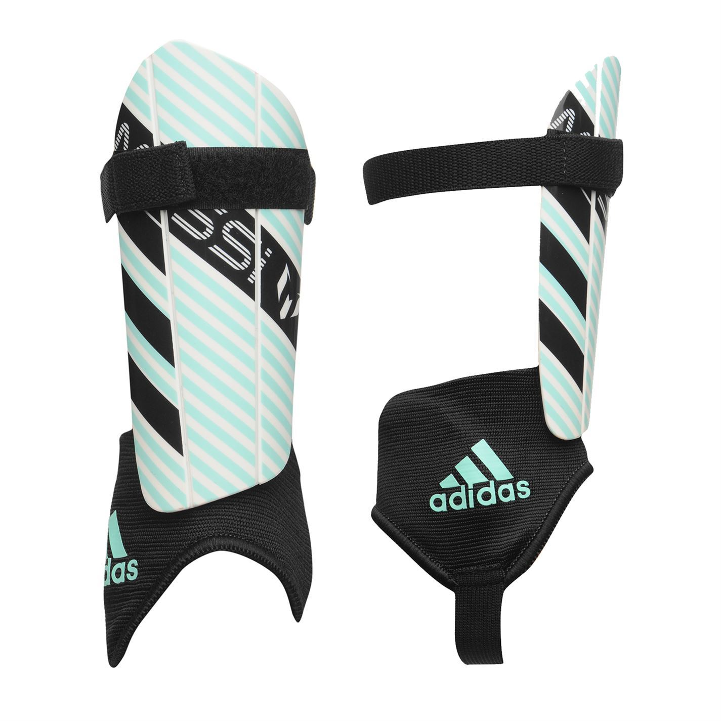 adidas Kids Messi Youth Shin Guard Ankle Pad Football  5027671827e9