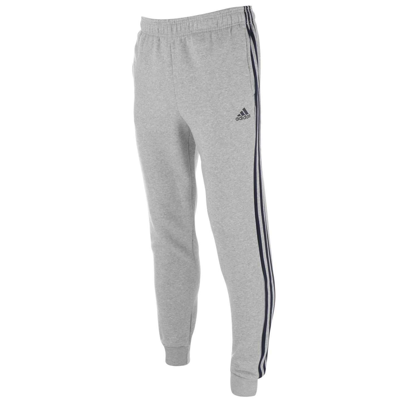 Add a stylishly sporty look to your wardrobe with these adidas 3 Stripe  Fleece Pants - designed with a jersey construction with a soft fleece  lining to ... 98c8a3836faf