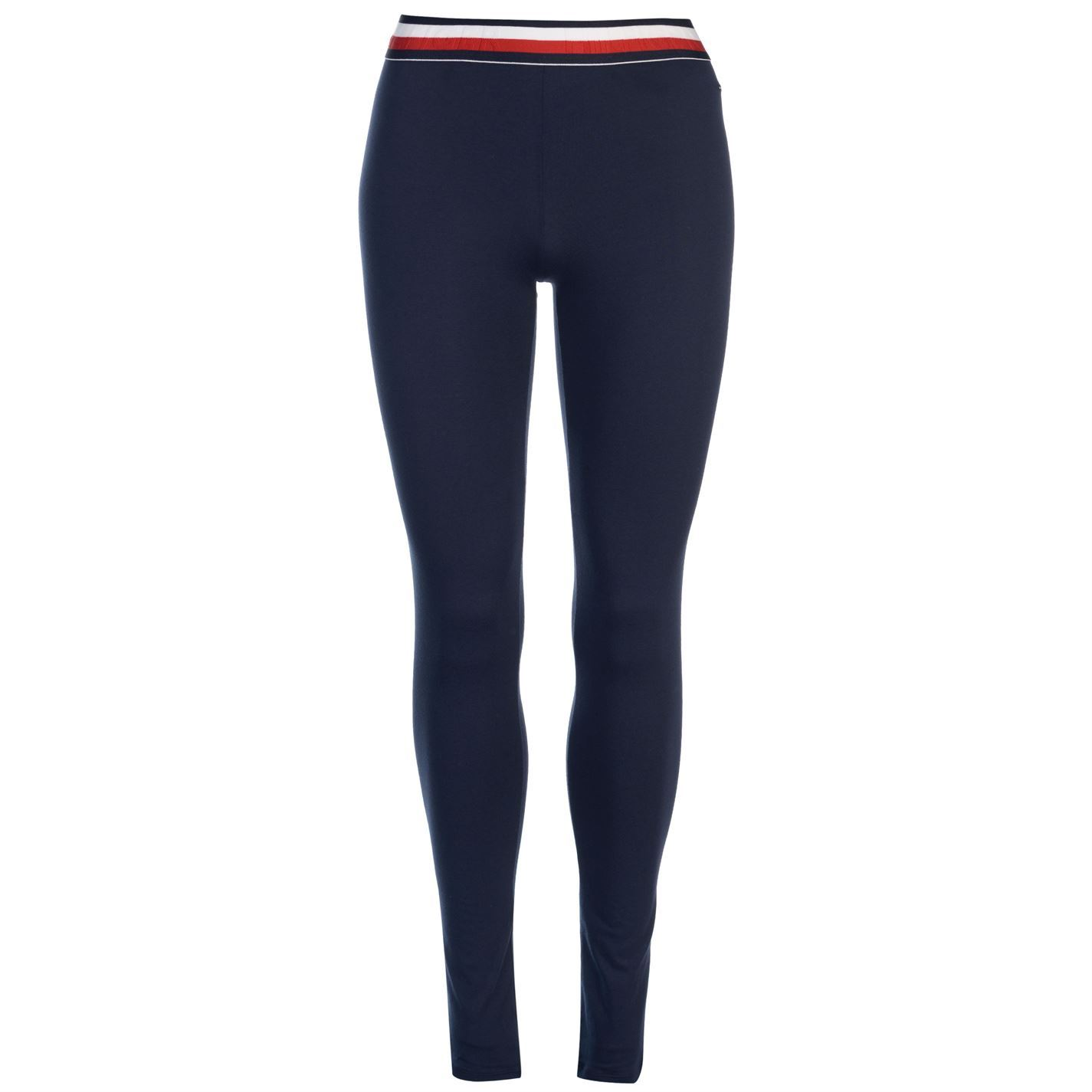 30c1d1e98f286 Image is loading Womens-Tommy-Hilfiger-Band-Leggings-Stretch-New
