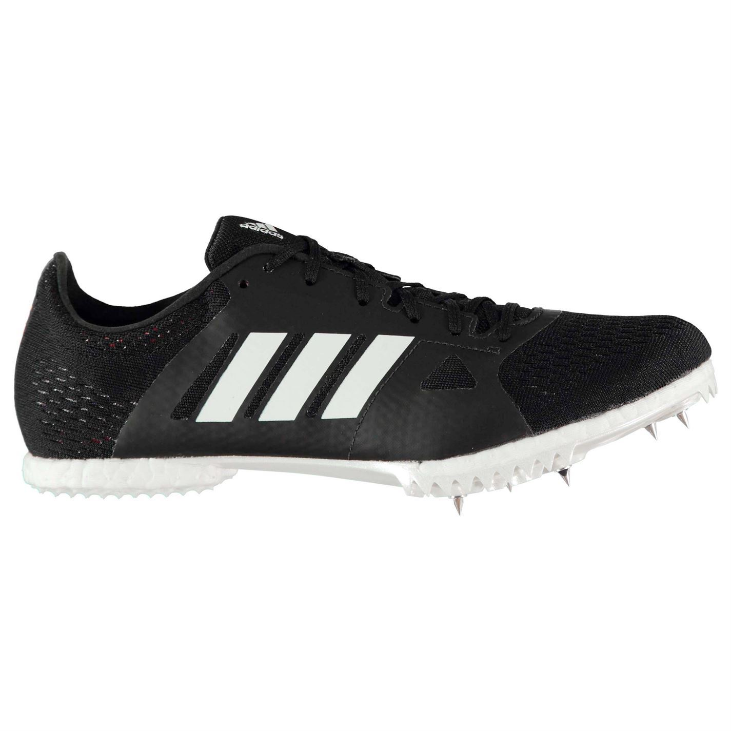 aa80c56e0 adidas Mens adizero Middle Distance Running Spikes Track Shoes Lace ...