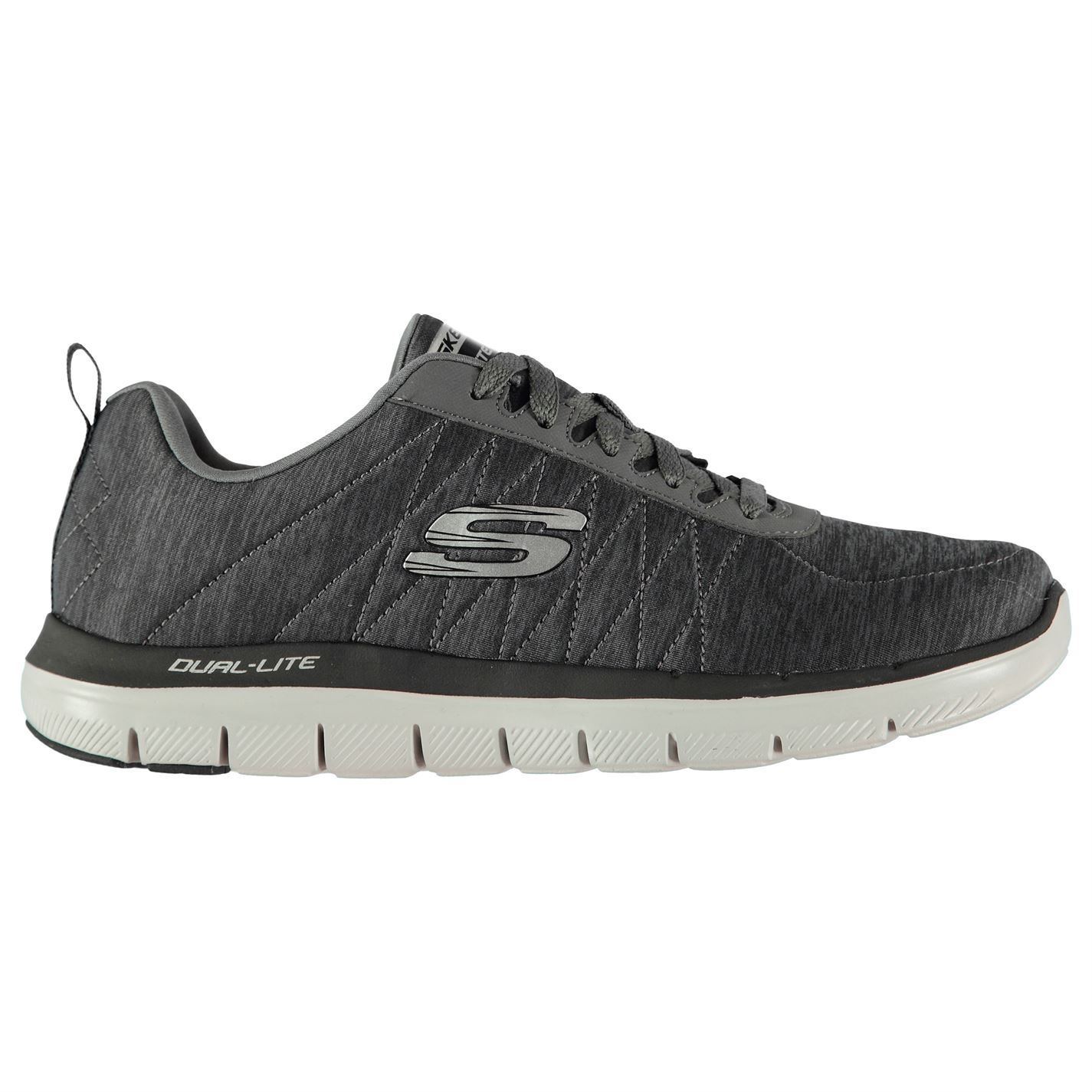 Skechers  Uomo Lace Flex Advantage 2 Chillston Schuhes Runners Lace Uomo Up Lightweight f5a514