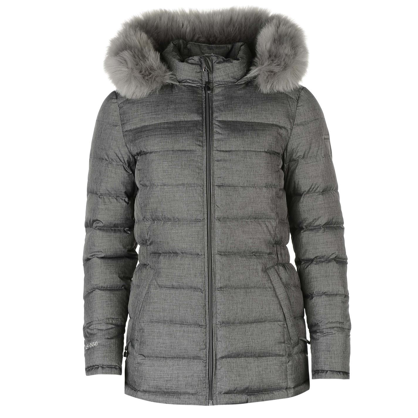 320908a49d7 Karrimor Hooded Down Jacket Ladies Brining style in comfort, the Karrimor  Hooded Down Jacket features a full zip fastening with chin guard and  internal ...